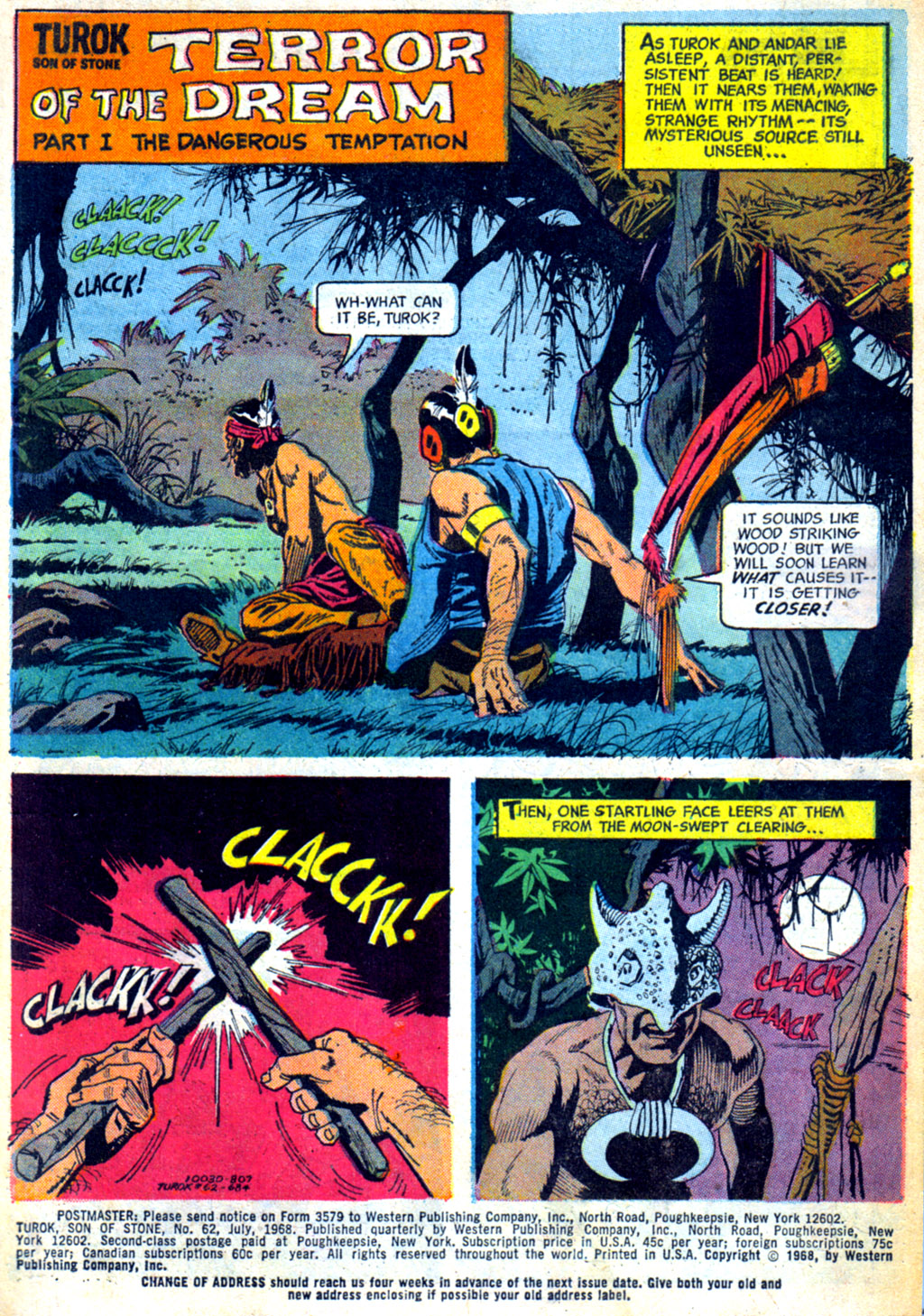 Read online Turok, Son of Stone comic -  Issue #62 - 3
