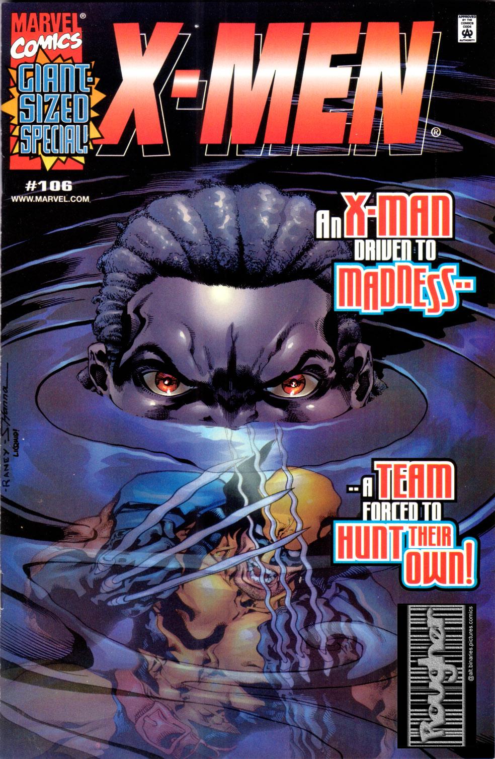 X-Men (1991) 106 Page 0