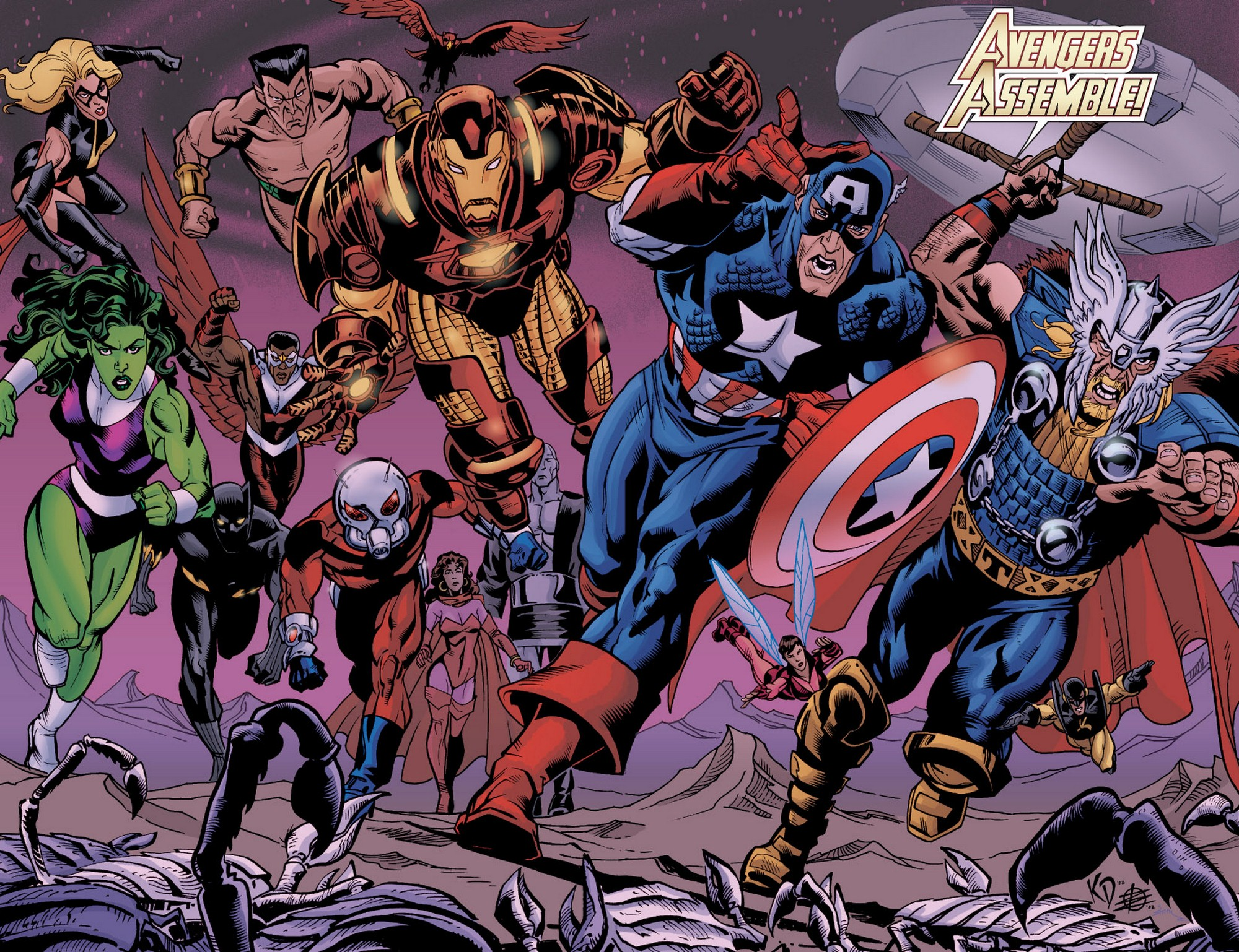 Read online Avengers (1998) comic -  Issue #60 - 14
