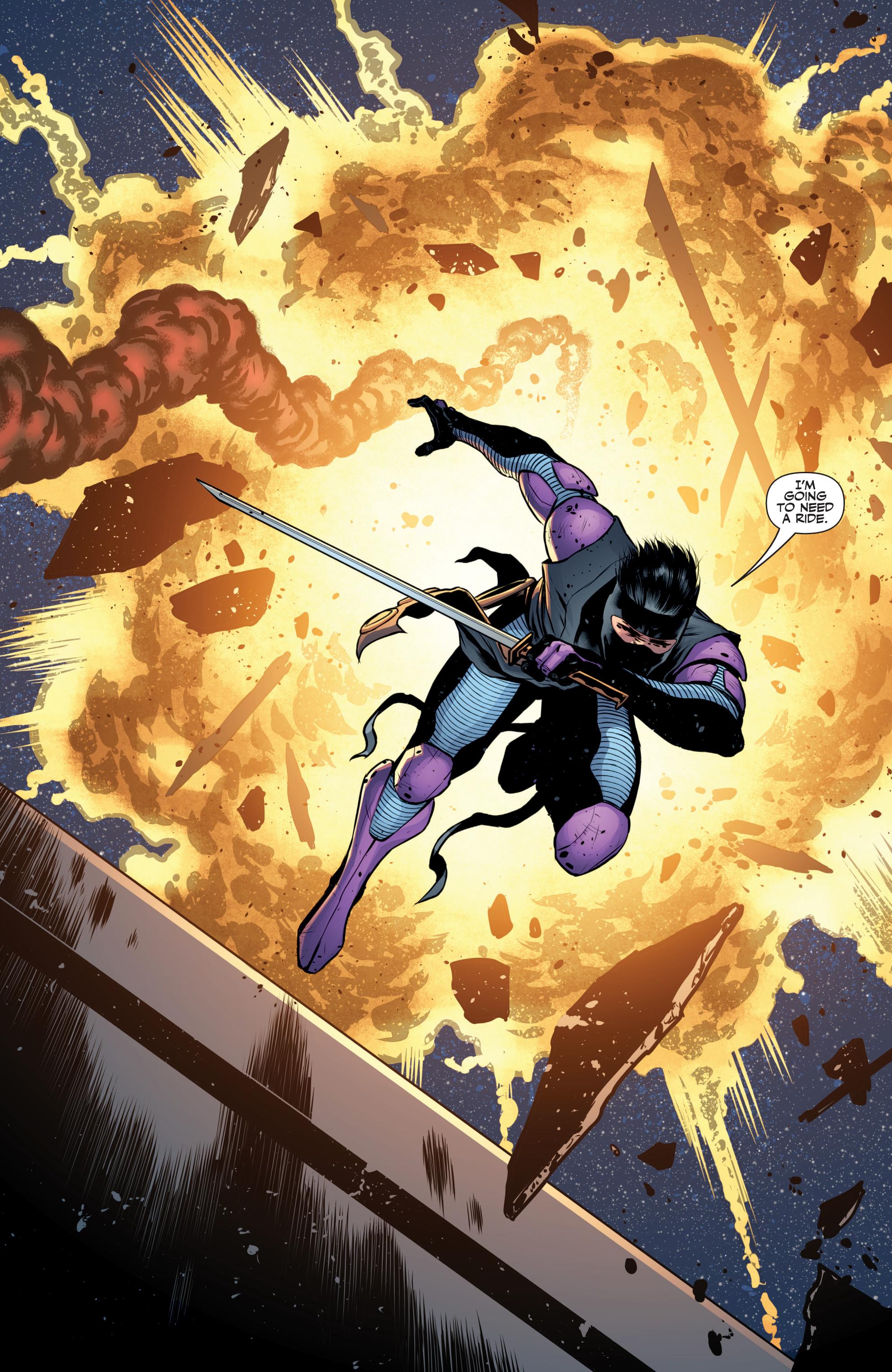 Read online Ninjak (2015) comic -  Issue #27 - 22