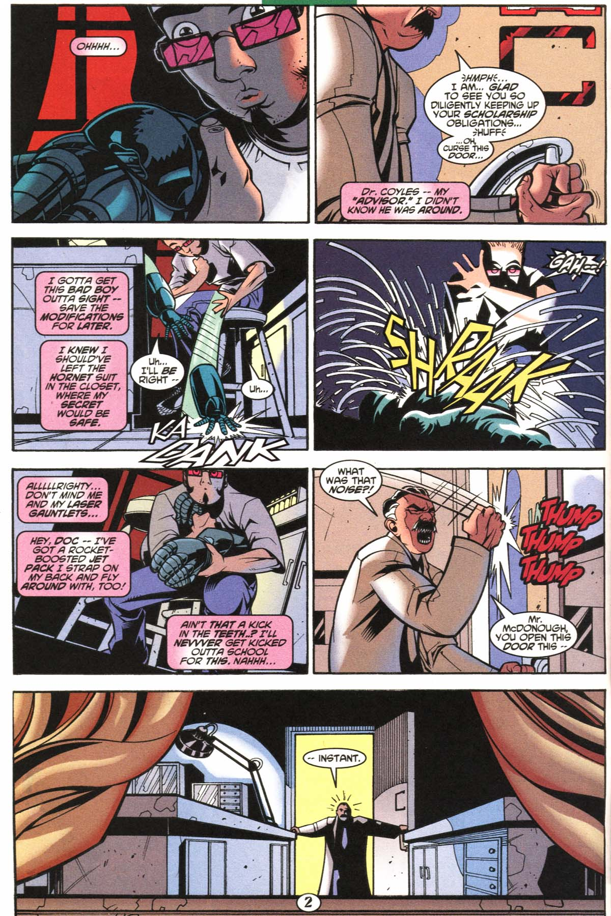 Read online Slingers comic -  Issue #6 - 3
