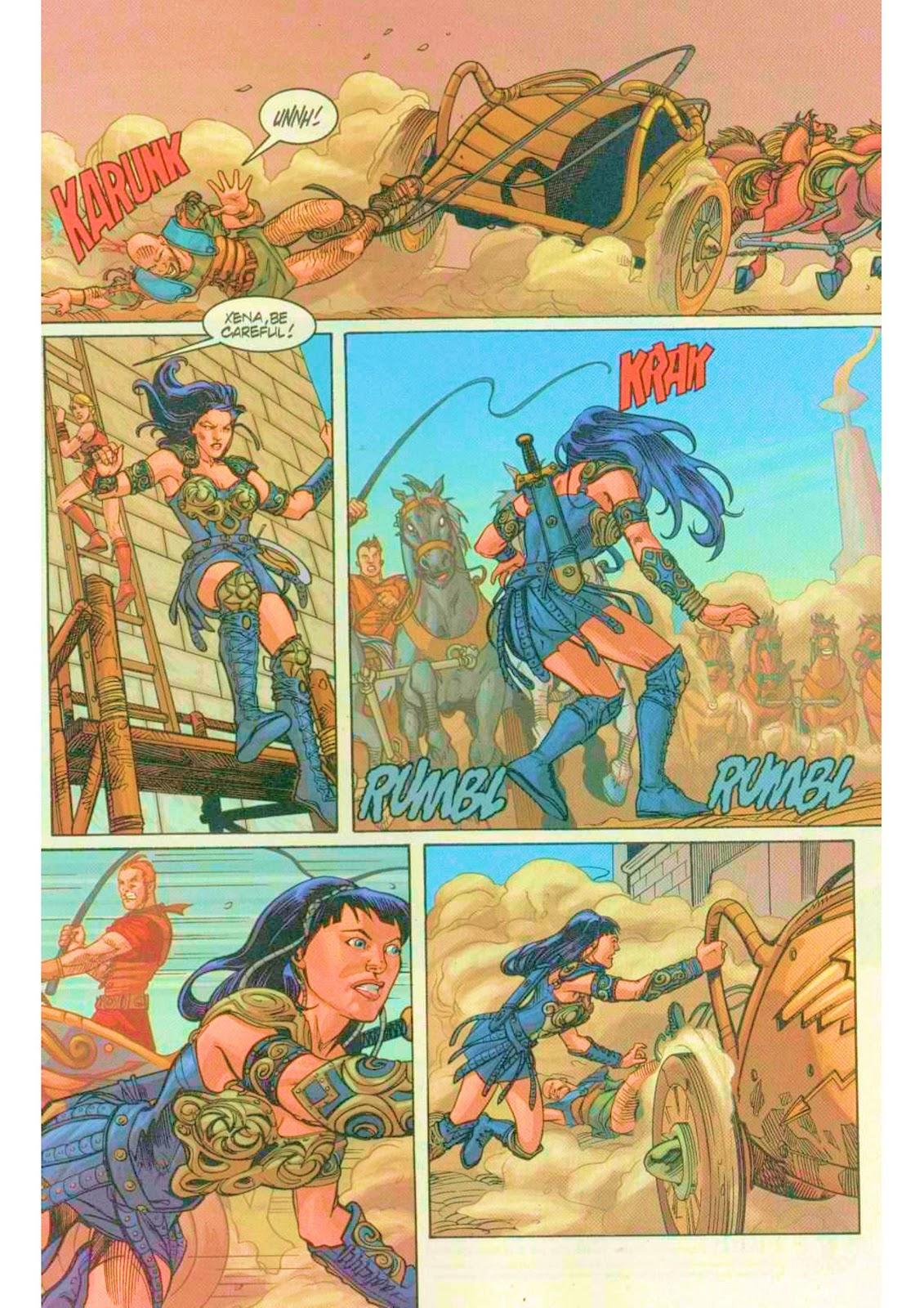 Xena: Warrior Princess (1999) Issue #7 #7 - English 16