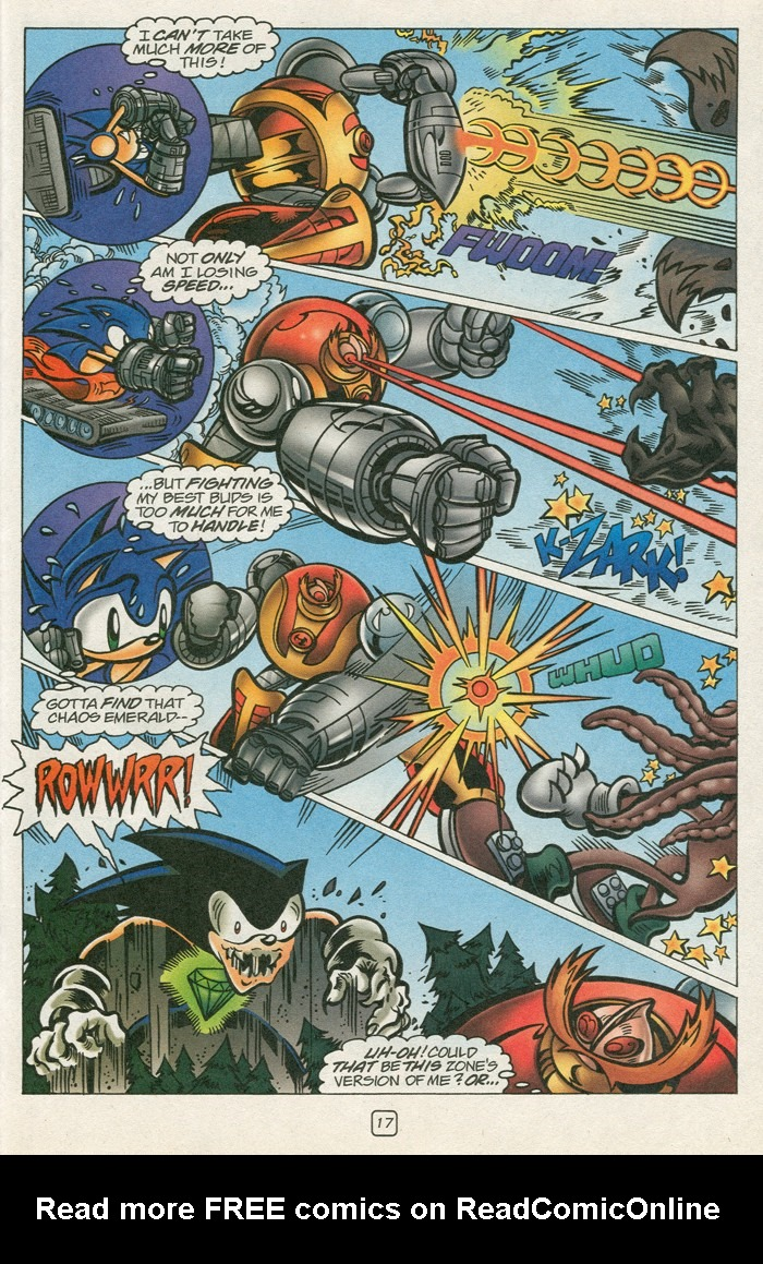 Read online Sonic Super Special comic -  Issue #12 - Sonic and Knuckles visa versa - 34