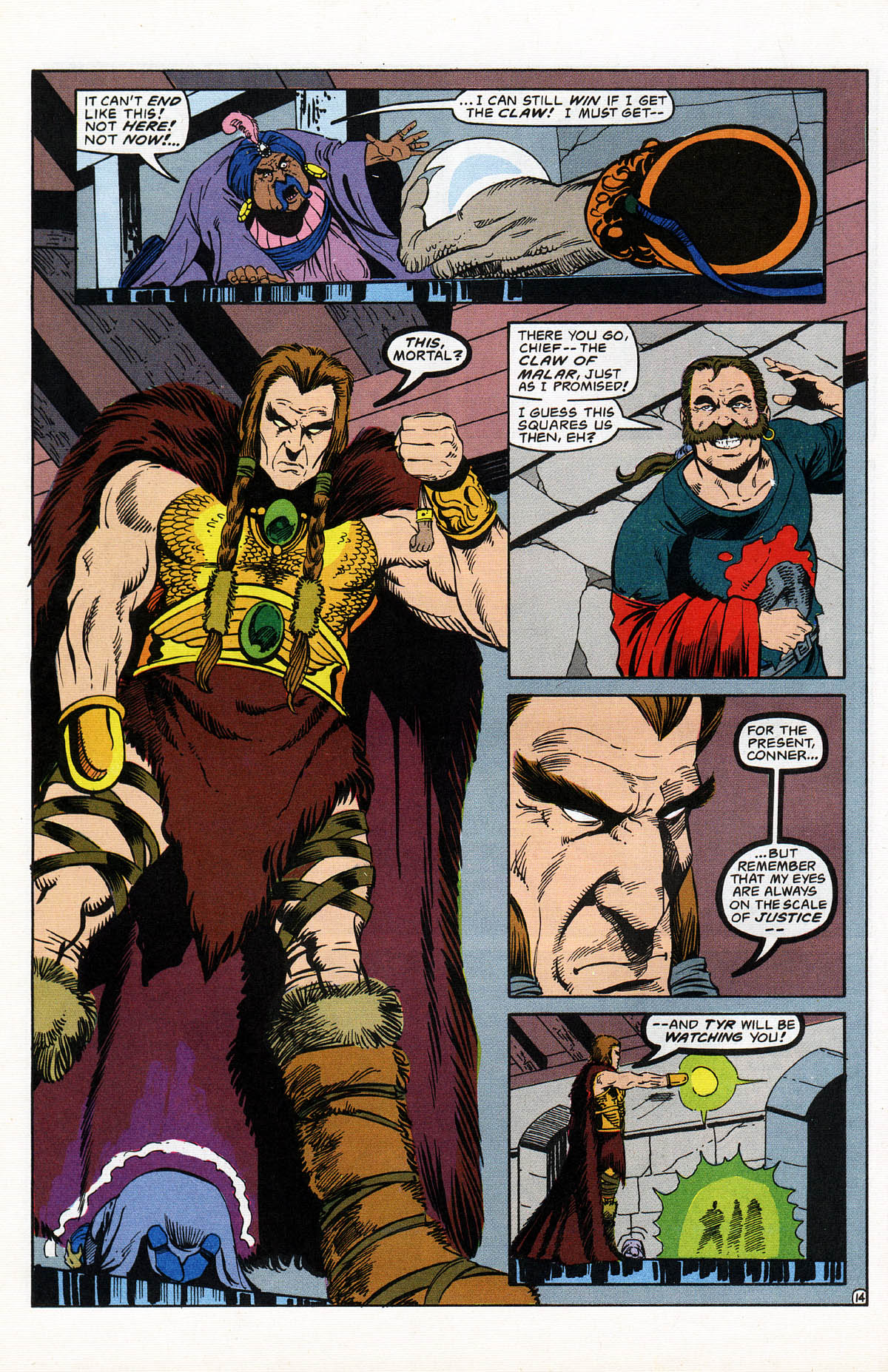 Read online Advanced Dungeons & Dragons comic -  Issue #16 - 17