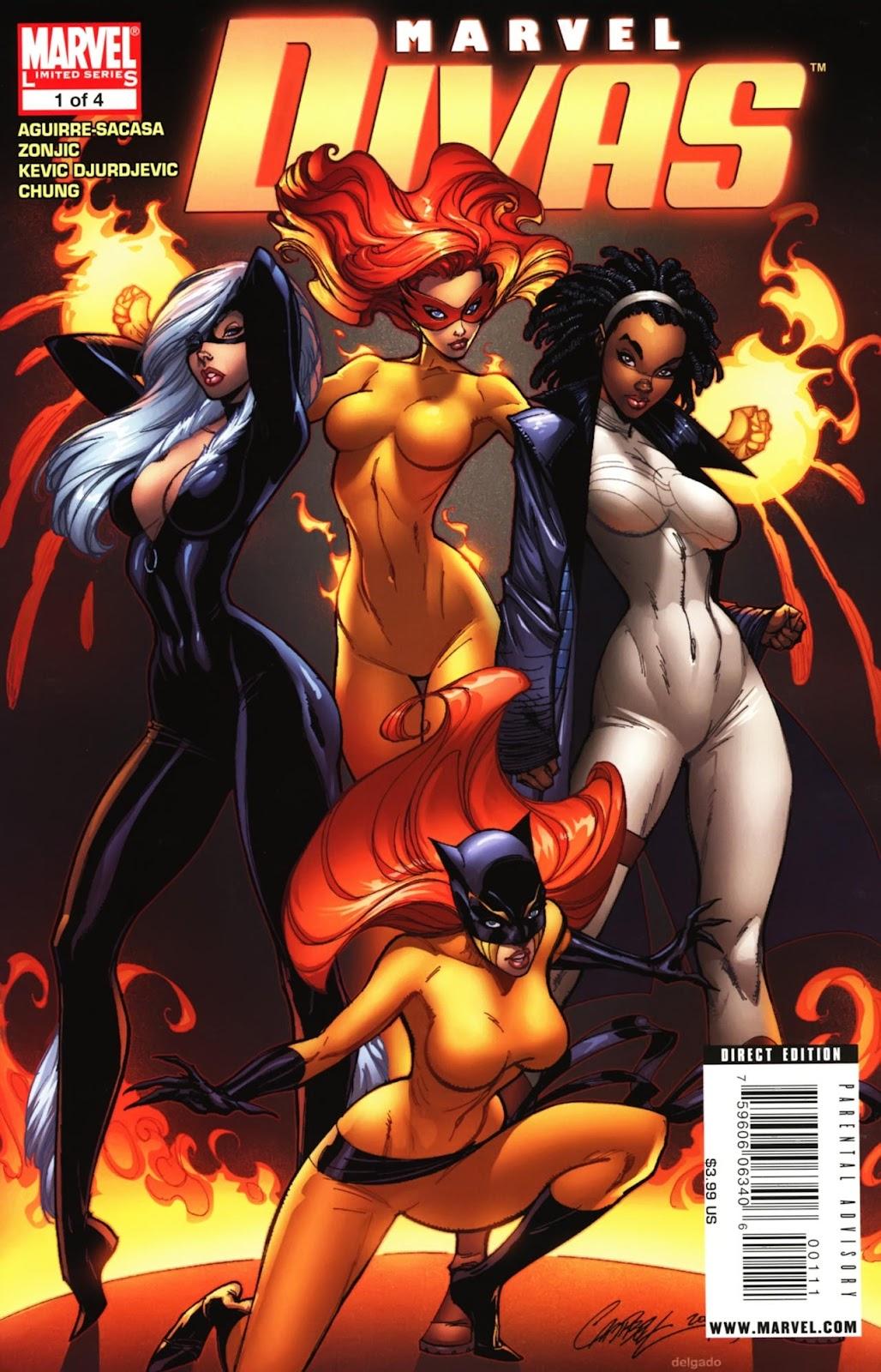 Marvel Divas issue 1 - Page 1