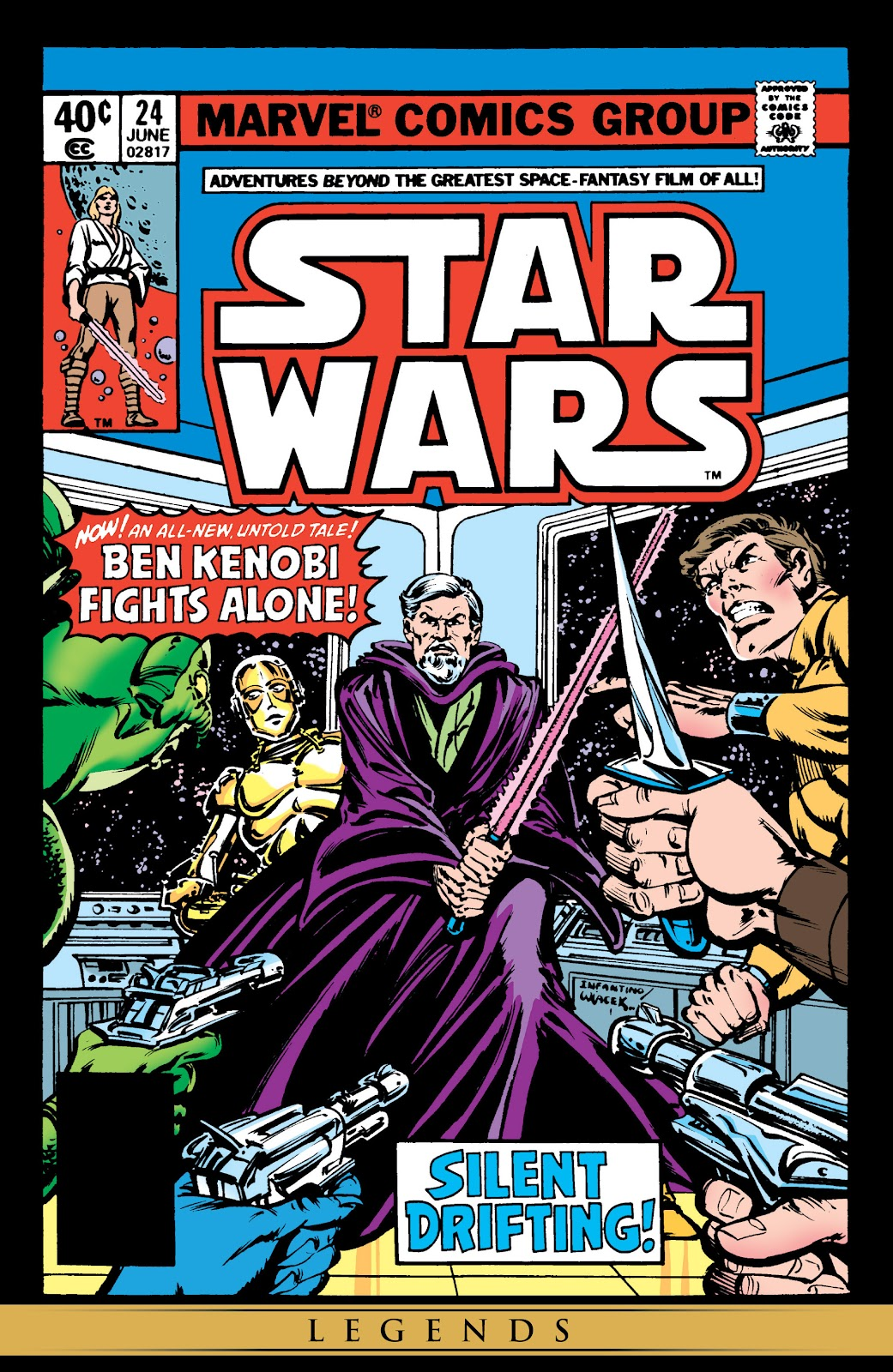 Read online Star Wars Legends: The Original Marvel Years - Epic Collection comic -  Issue # TPB 2 (Part 1) - 6