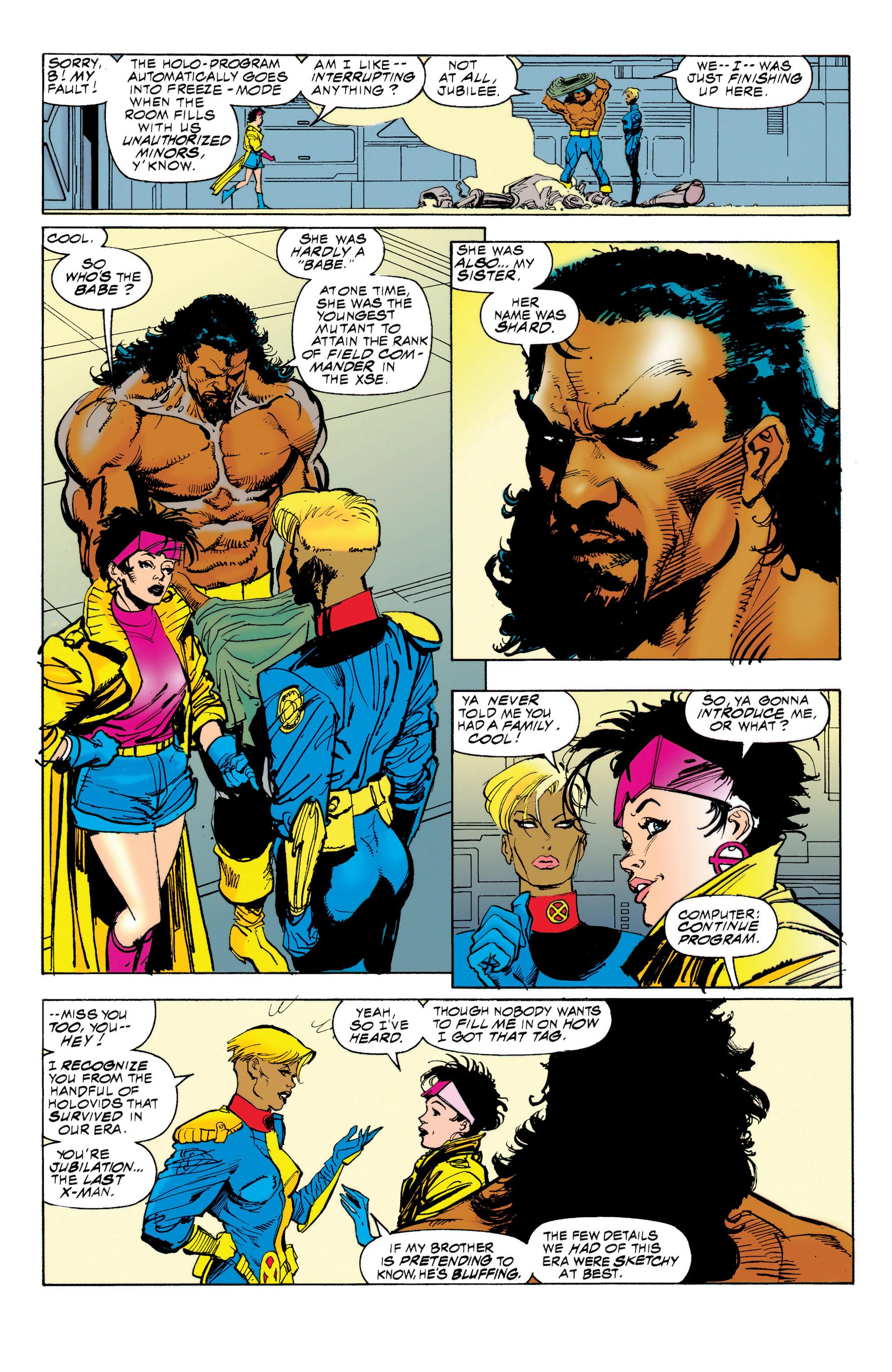 Read online Uncanny X-Men (1963) comic -  Issue #314 - 10