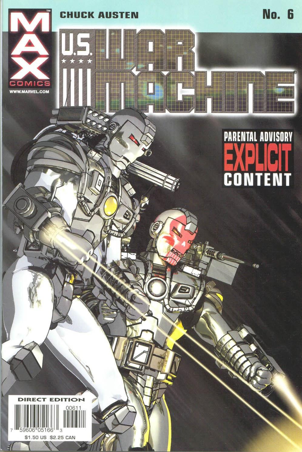 Read online U.S. War Machine comic -  Issue #6 - 2