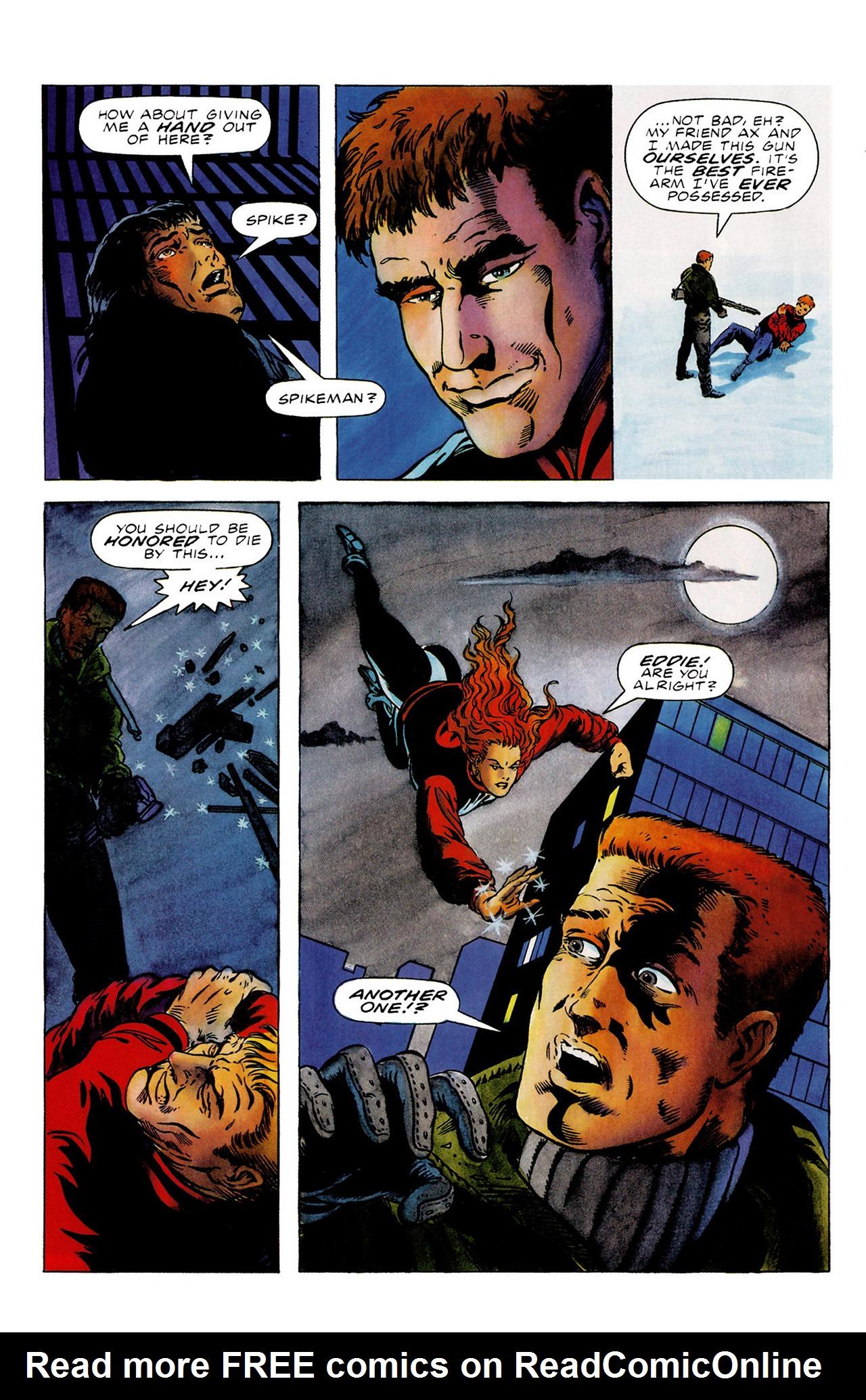Read online Harbinger (1992) comic -  Issue #16 - 17