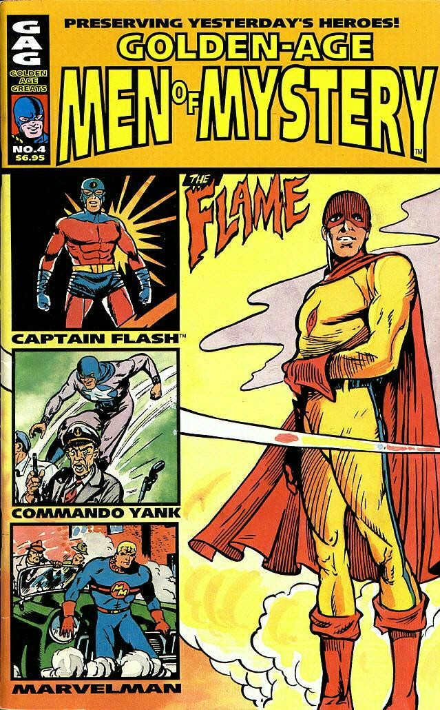 Read online Golden-Age Men of Mystery comic -  Issue #4 - 1
