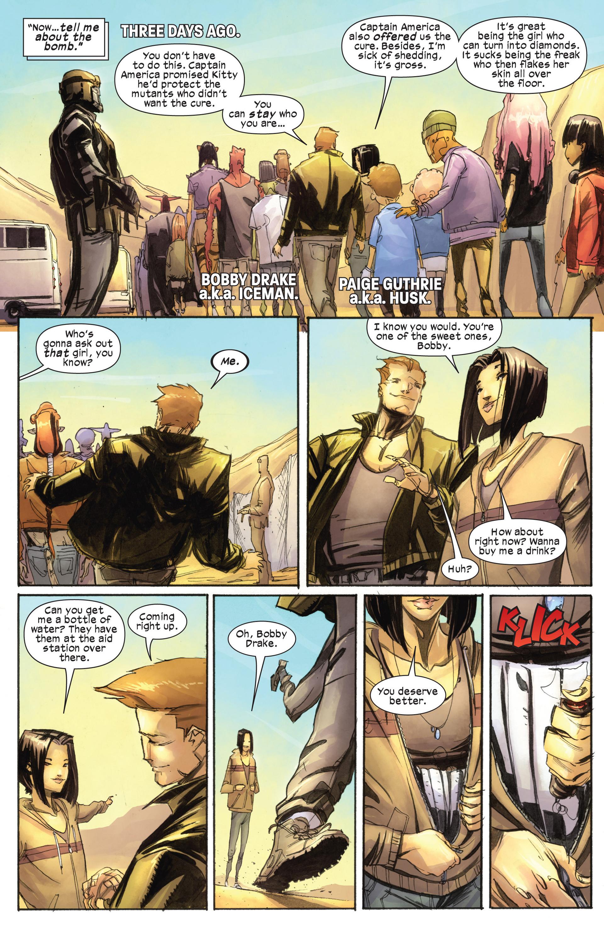 Read online Ultimate Comics X-Men comic -  Issue #18.1 - 5