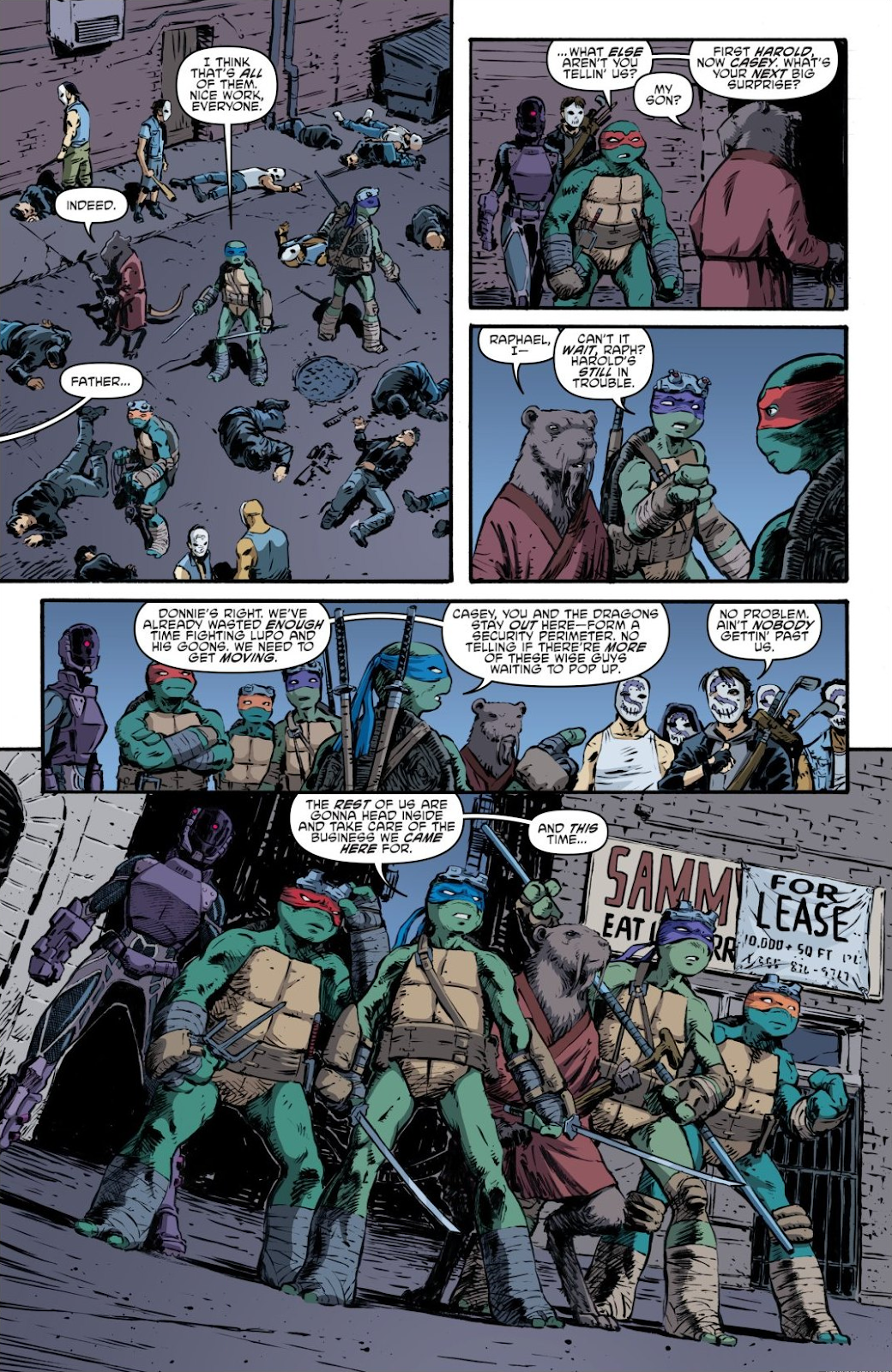 Read online Teenage Mutant Ninja Turtles: The IDW Collection comic -  Issue # TPB 7 (Part 3) - 96