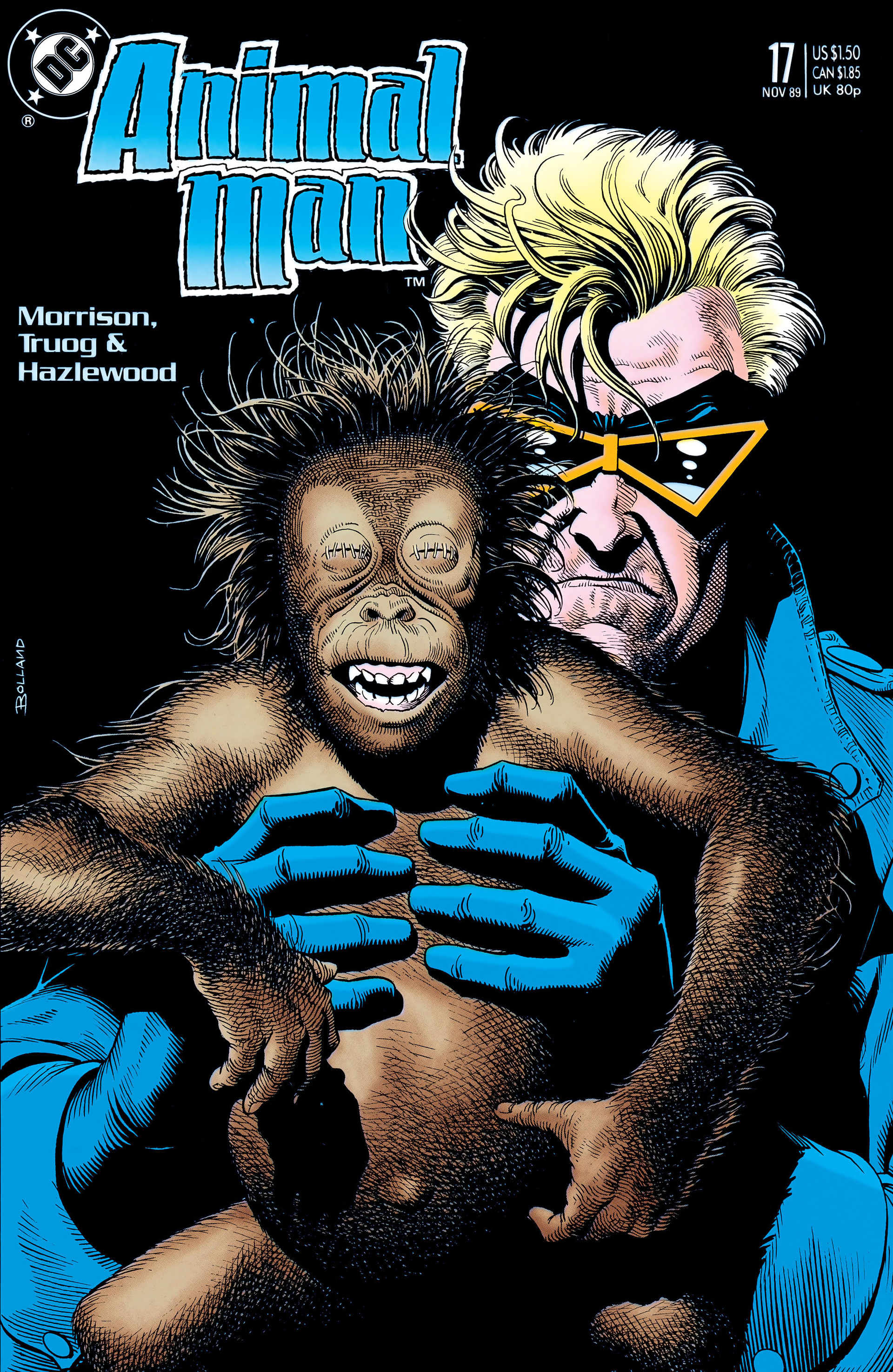 Read online Animal Man (1988) comic -  Issue #17 - 1