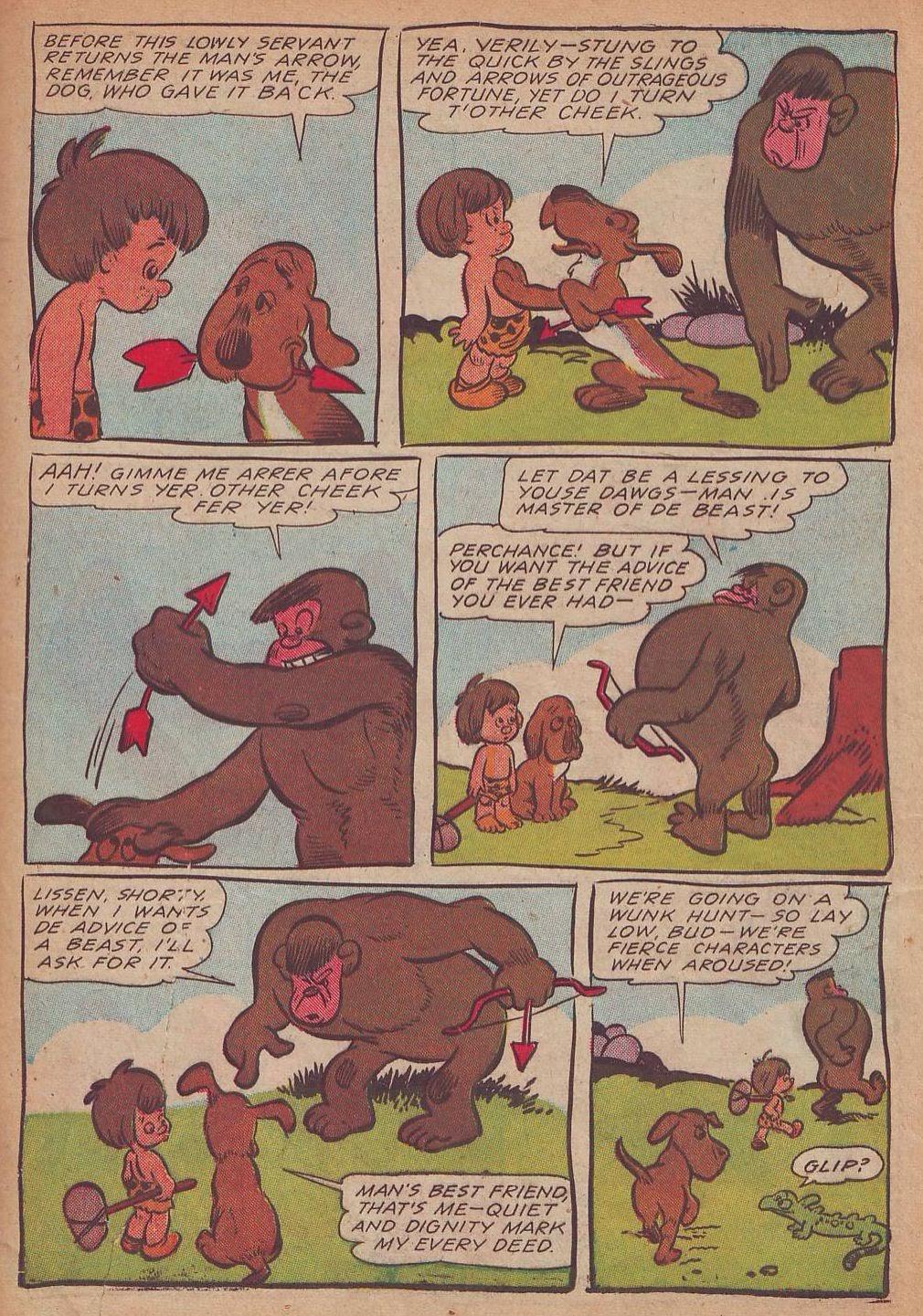Read online Animal Comics comic -  Issue #21 - 37