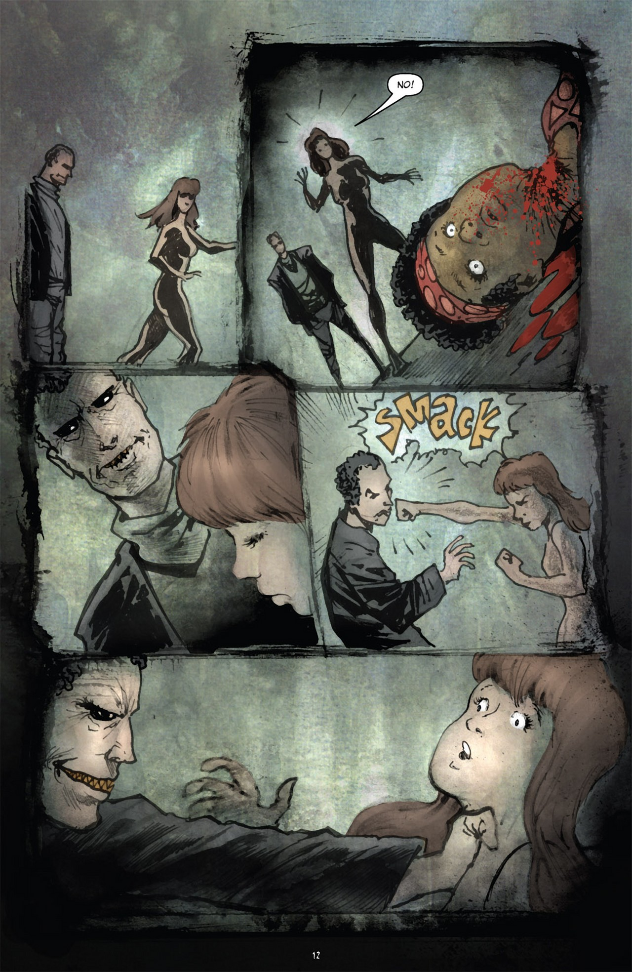 Read online 30 Days of Night (2011) comic -  Issue #3 - 16