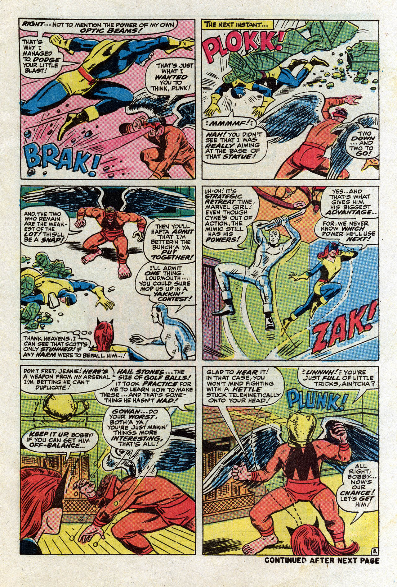 Read online Uncanny X-Men (1963) comic -  Issue #75 - 5