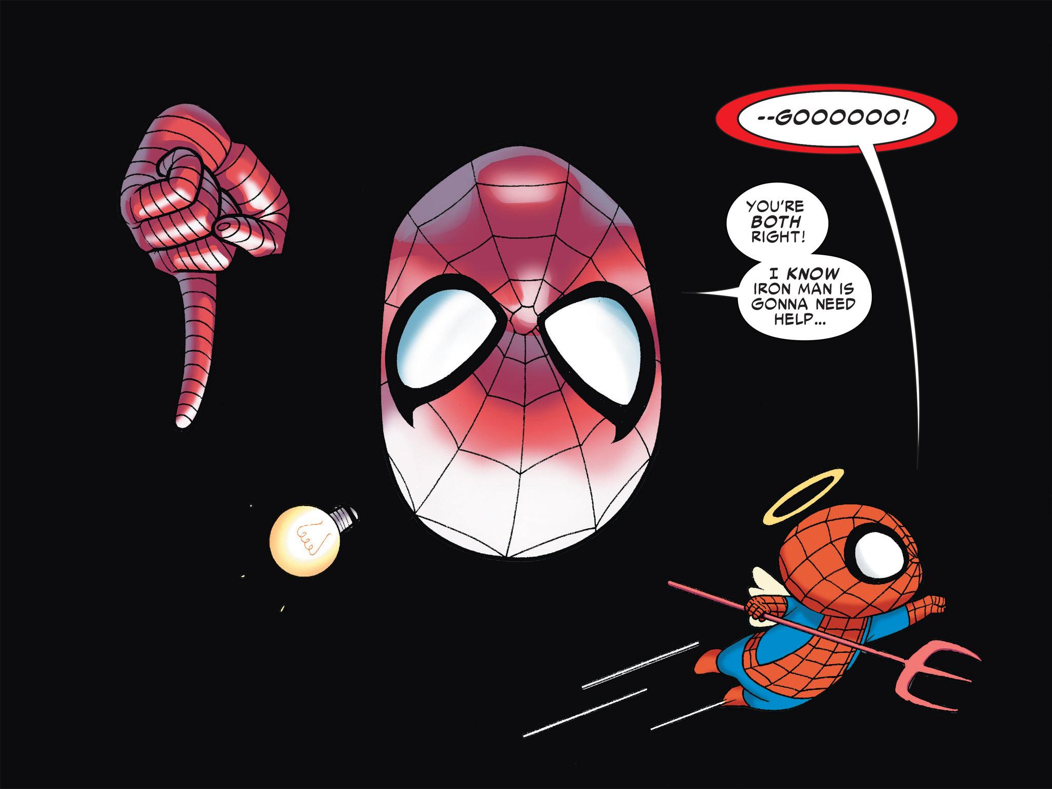 Read online Ultimate Spider-Man (Infinite Comics) (2016) comic -  Issue #4 - 32