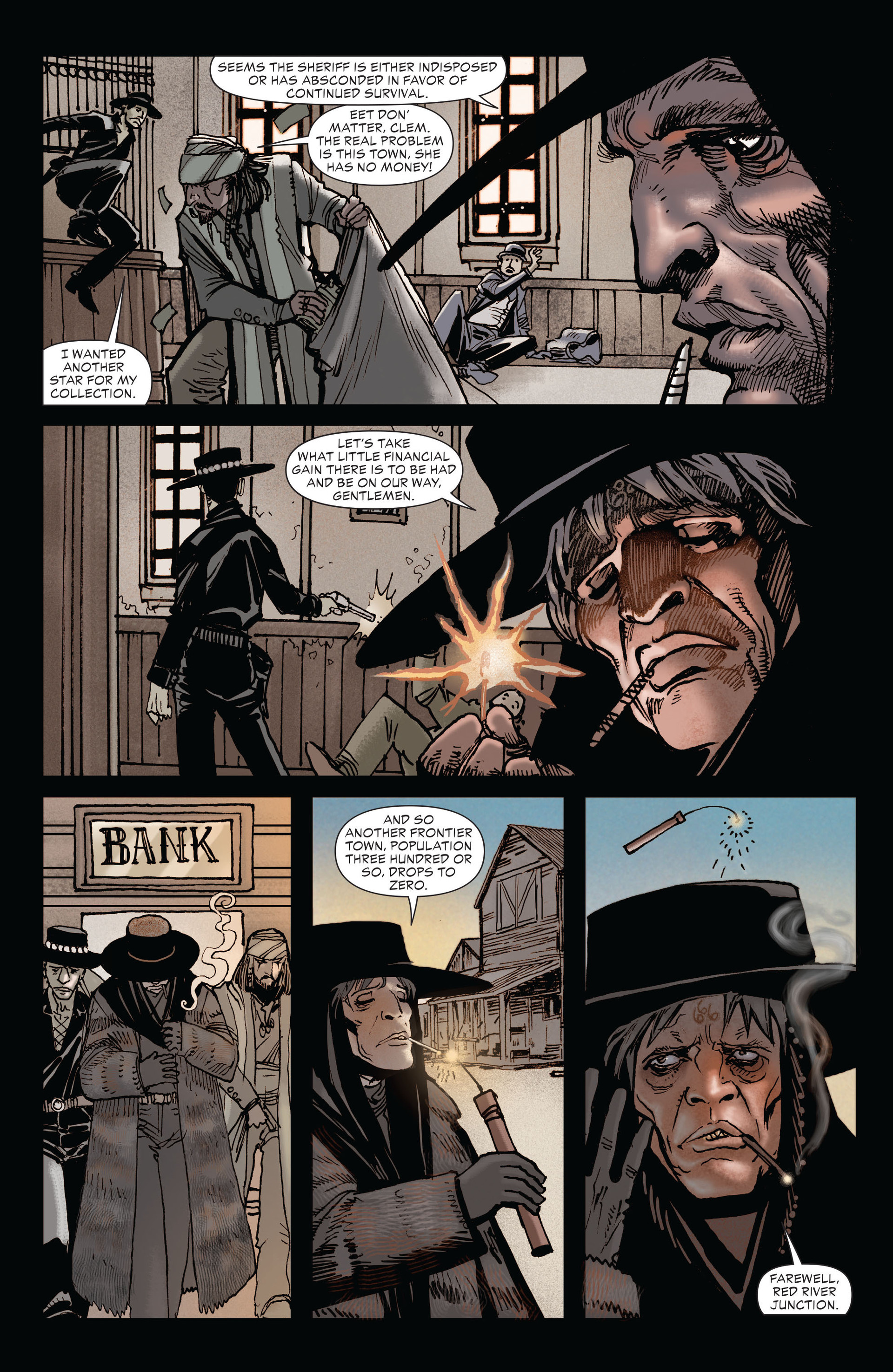 Read online All-Star Western (2011) comic -  Issue #19 - 10