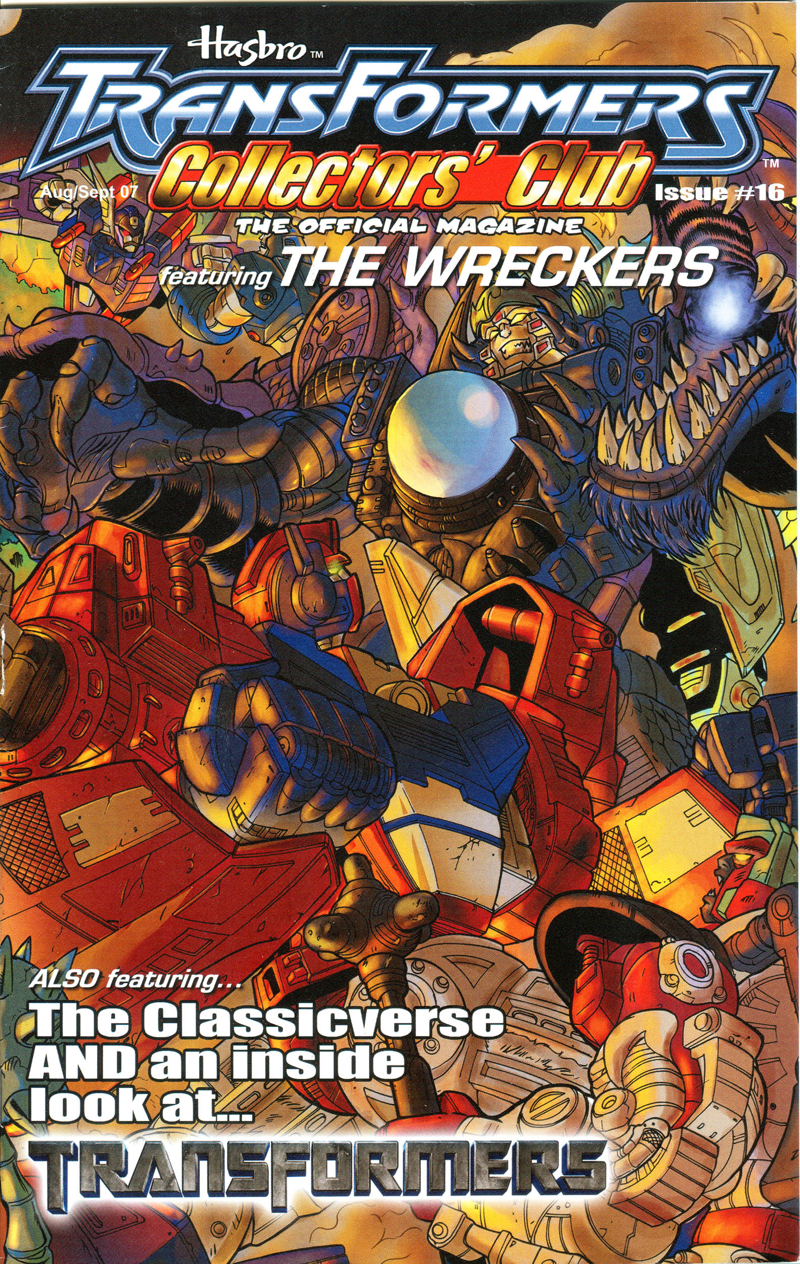 Read online Transformers: Collectors' Club comic -  Issue #16 - 1