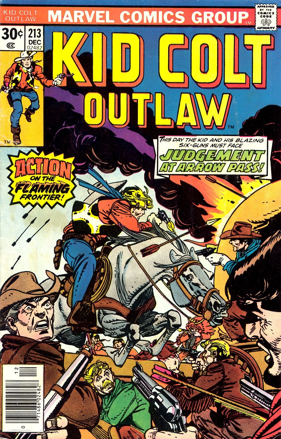 Kid Colt Outlaw issue 213 - Page 1