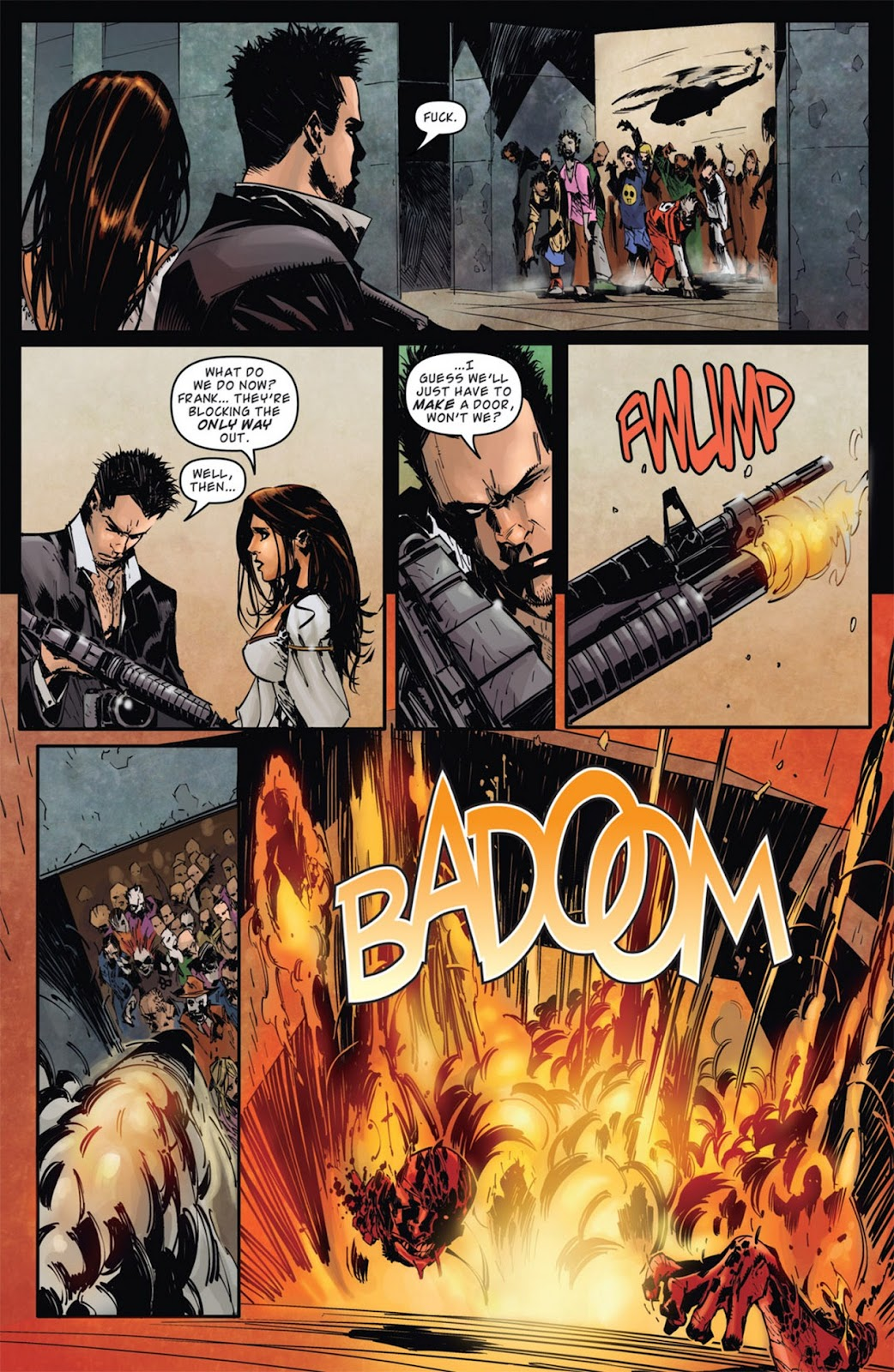 Read online Dead Rising: Road to Fortune comic -  Issue #1 - 12