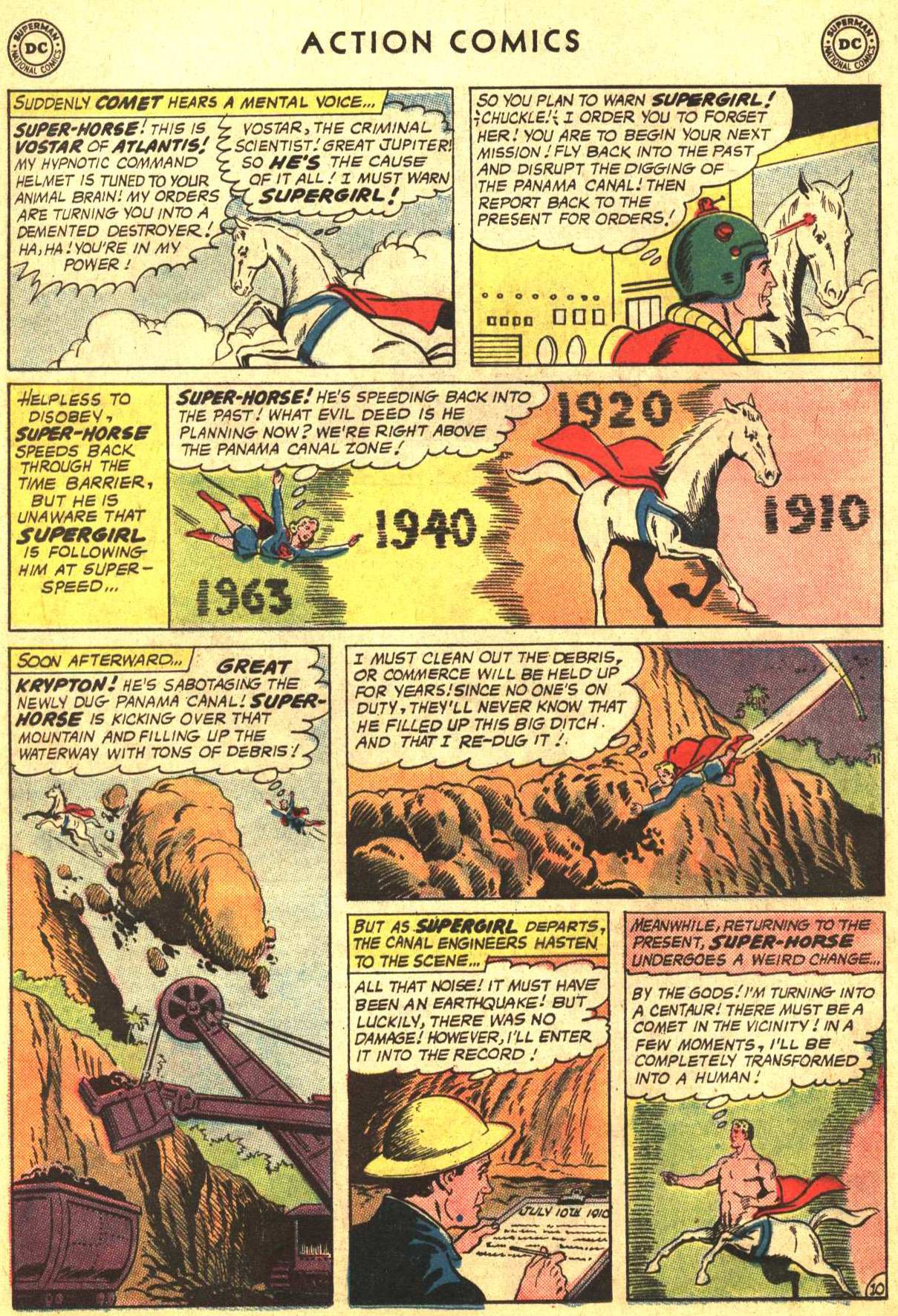 Read online Action Comics (1938) comic -  Issue #302 - 25