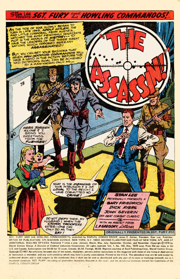 Read online Sgt. Fury comic -  Issue #146 - 3
