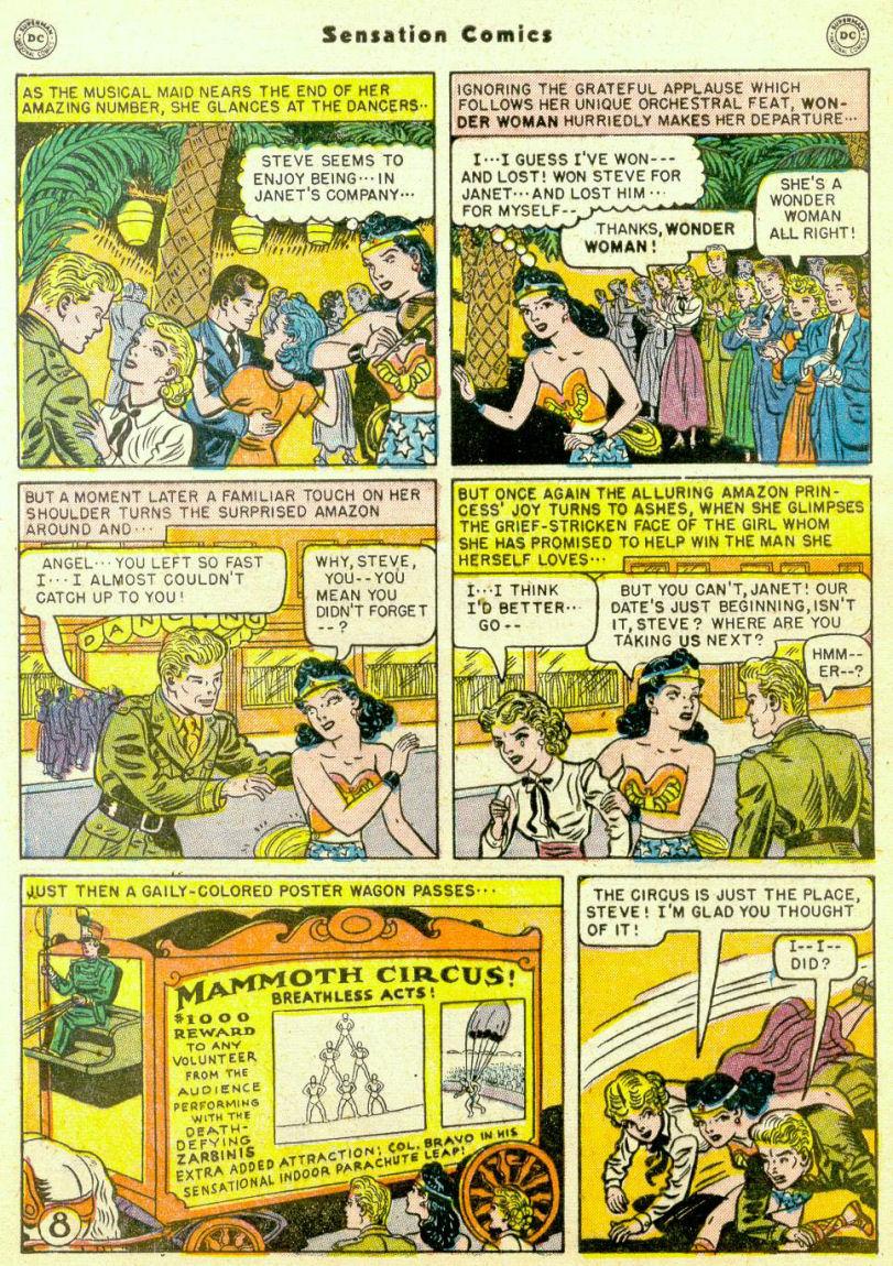Read online Sensation (Mystery) Comics comic -  Issue #98 - 10