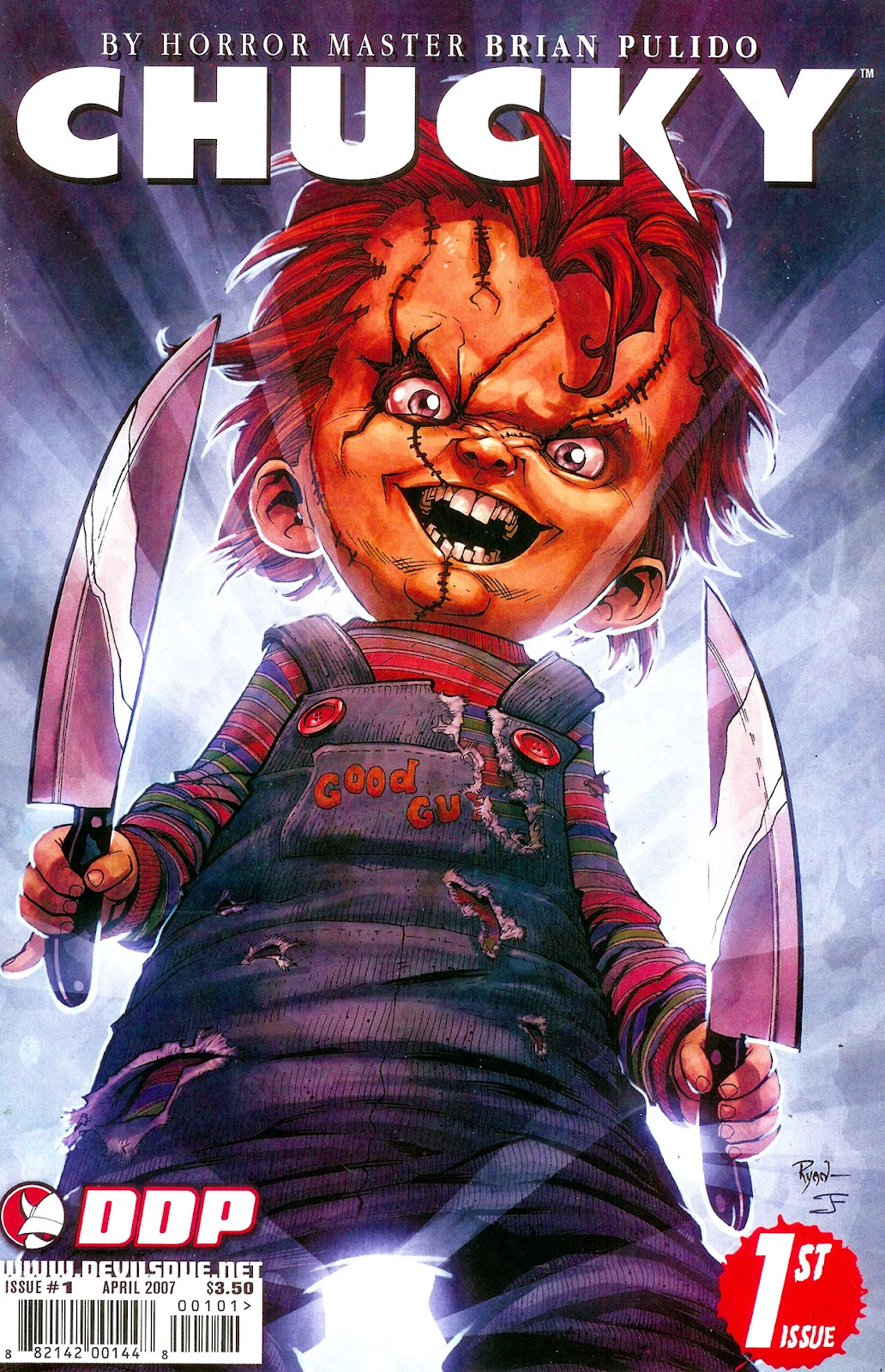 Chucky issue 1 - Page 1