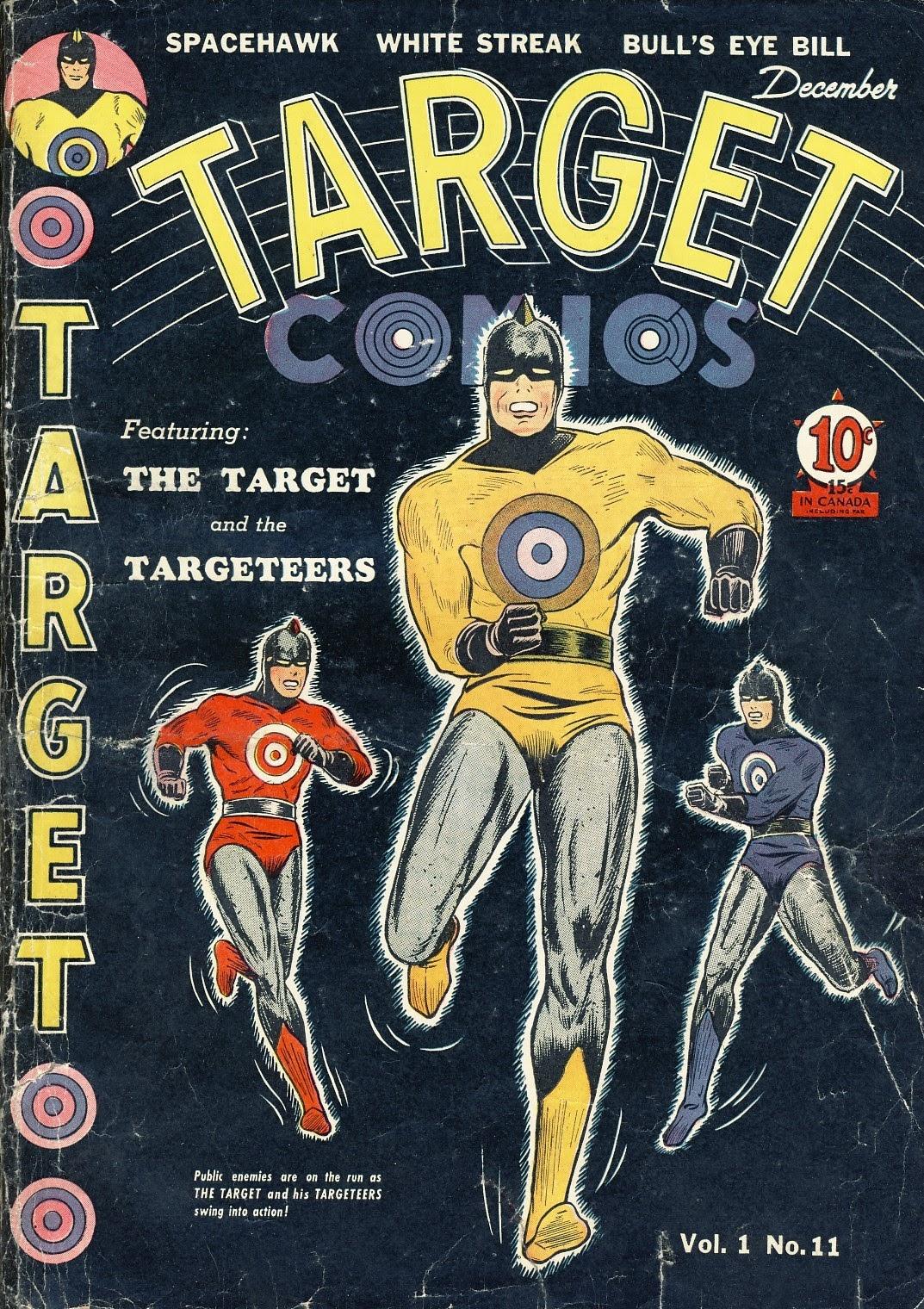 Target Comics 11 Page 1