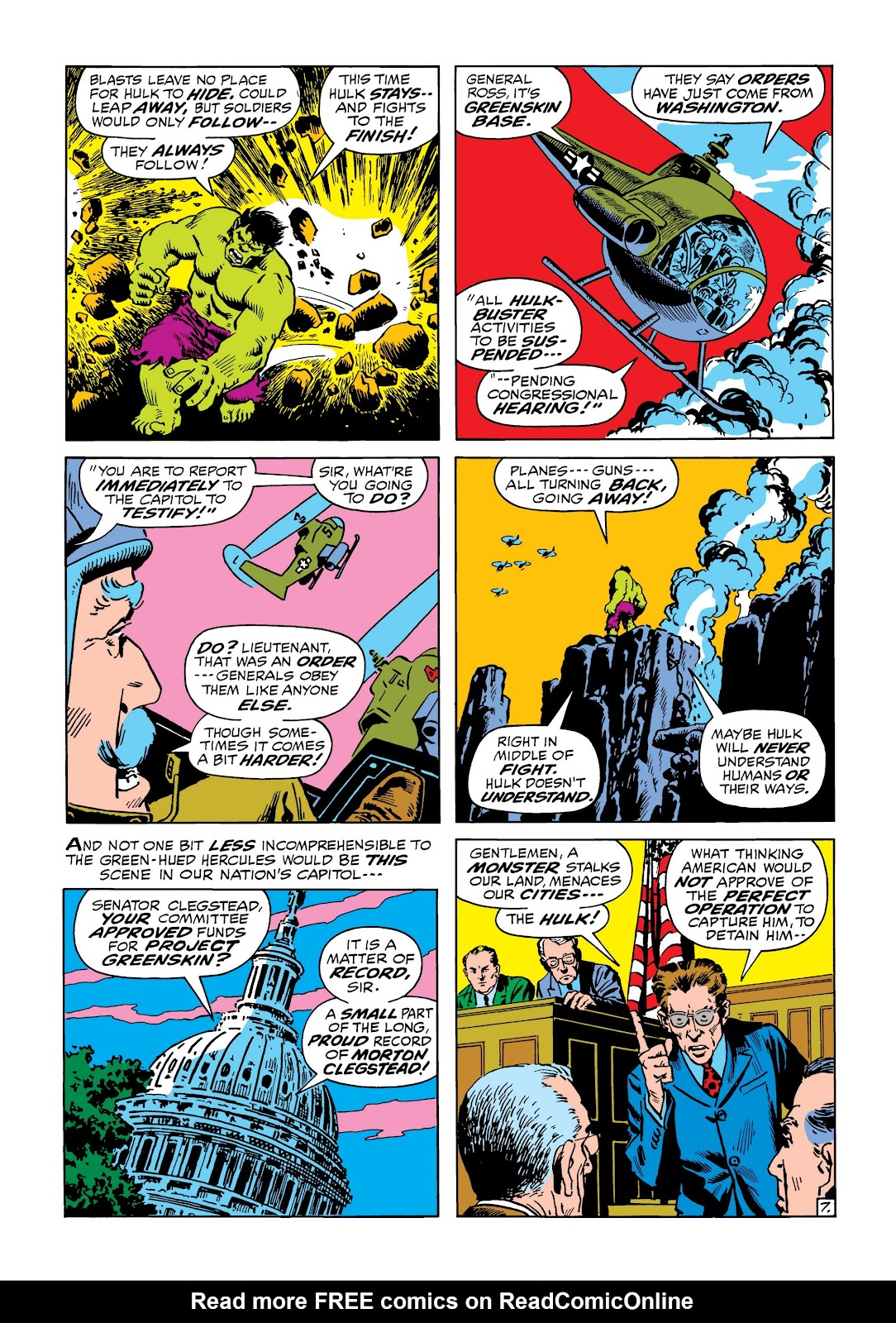 Read online Marvel Masterworks: The Incredible Hulk comic -  Issue # TPB 8 (Part 2) - 37