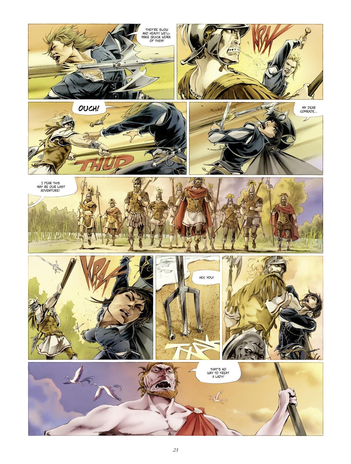 Read online Arthus Trivium comic -  Issue #4 - 25