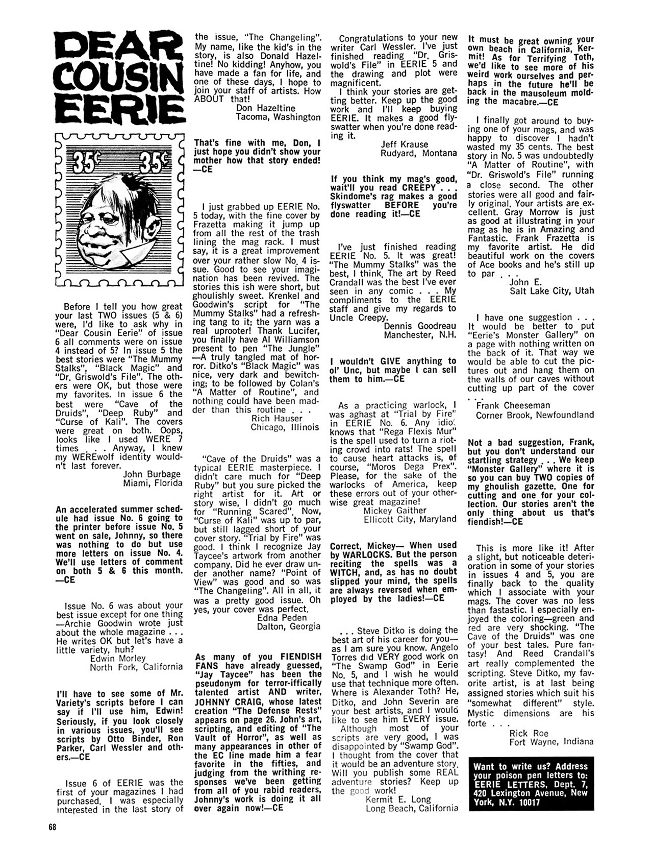 Read online Eerie Archives comic -  Issue # TPB 2 - 69