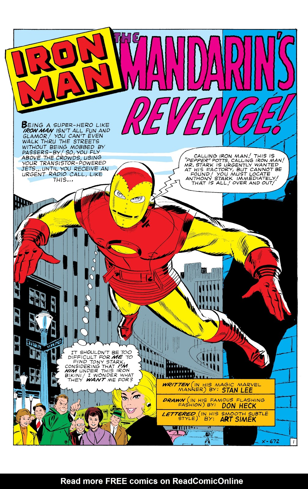 Read online Marvel Masterworks: The Invincible Iron Man comic -  Issue # TPB 2 (Part 1) - 47