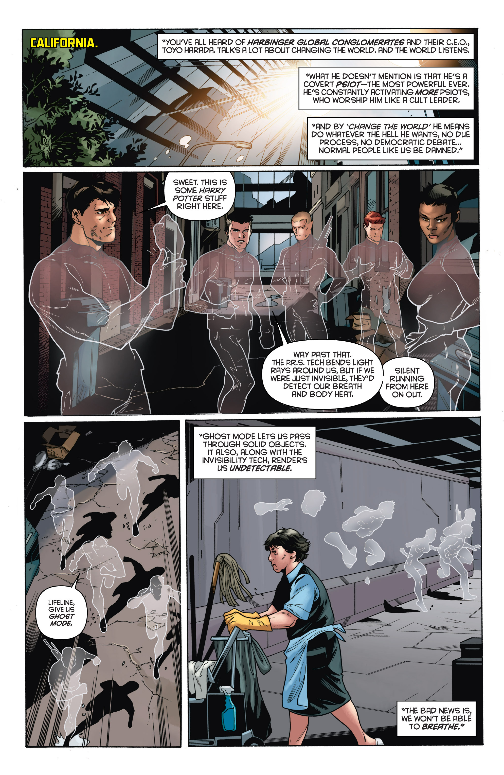 Read online Bloodshot and H.A.R.D.Corps comic -  Issue # TPB 4 - 25