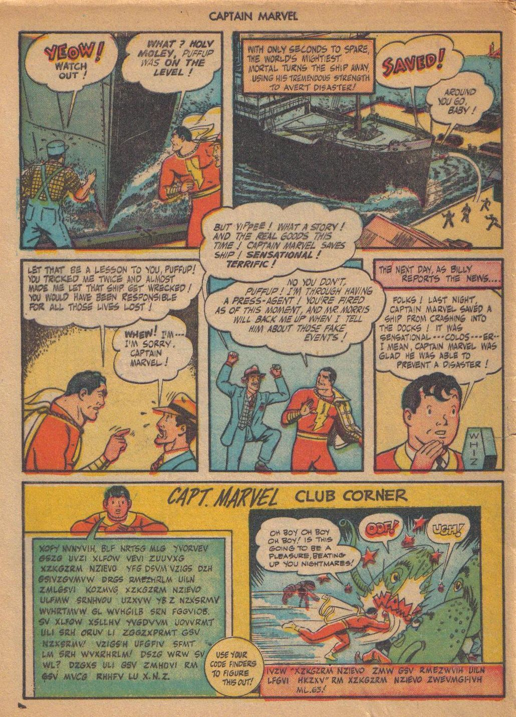 Captain Marvel Adventures issue 64 - Page 48