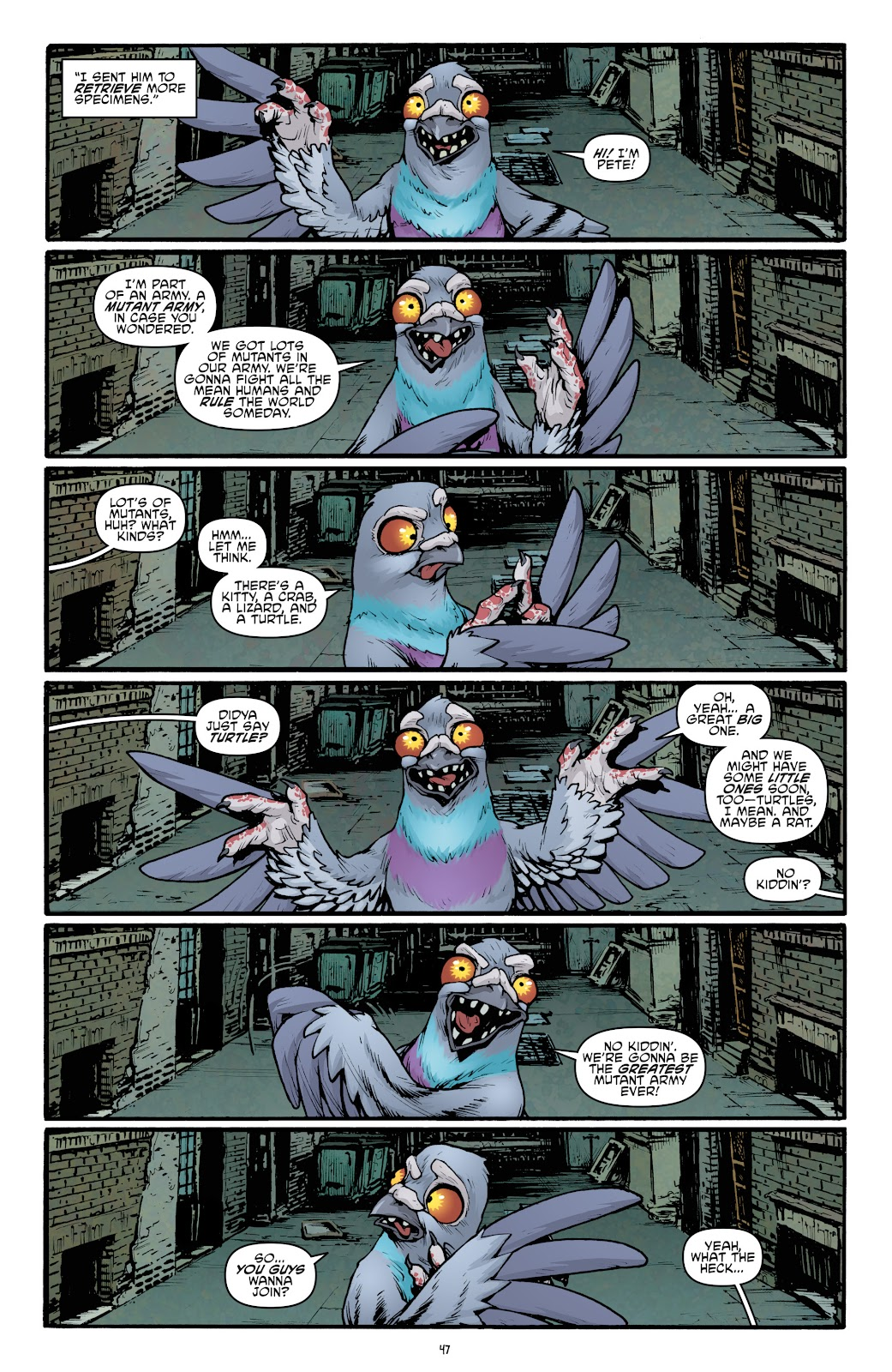 Read online Teenage Mutant Ninja Turtles: The IDW Collection comic -  Issue # TPB 5 (Part 2) - 23