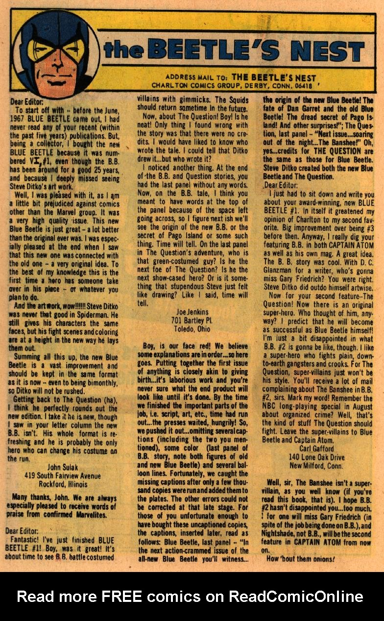 Blue Beetle (1967) issue 2 - Page 24