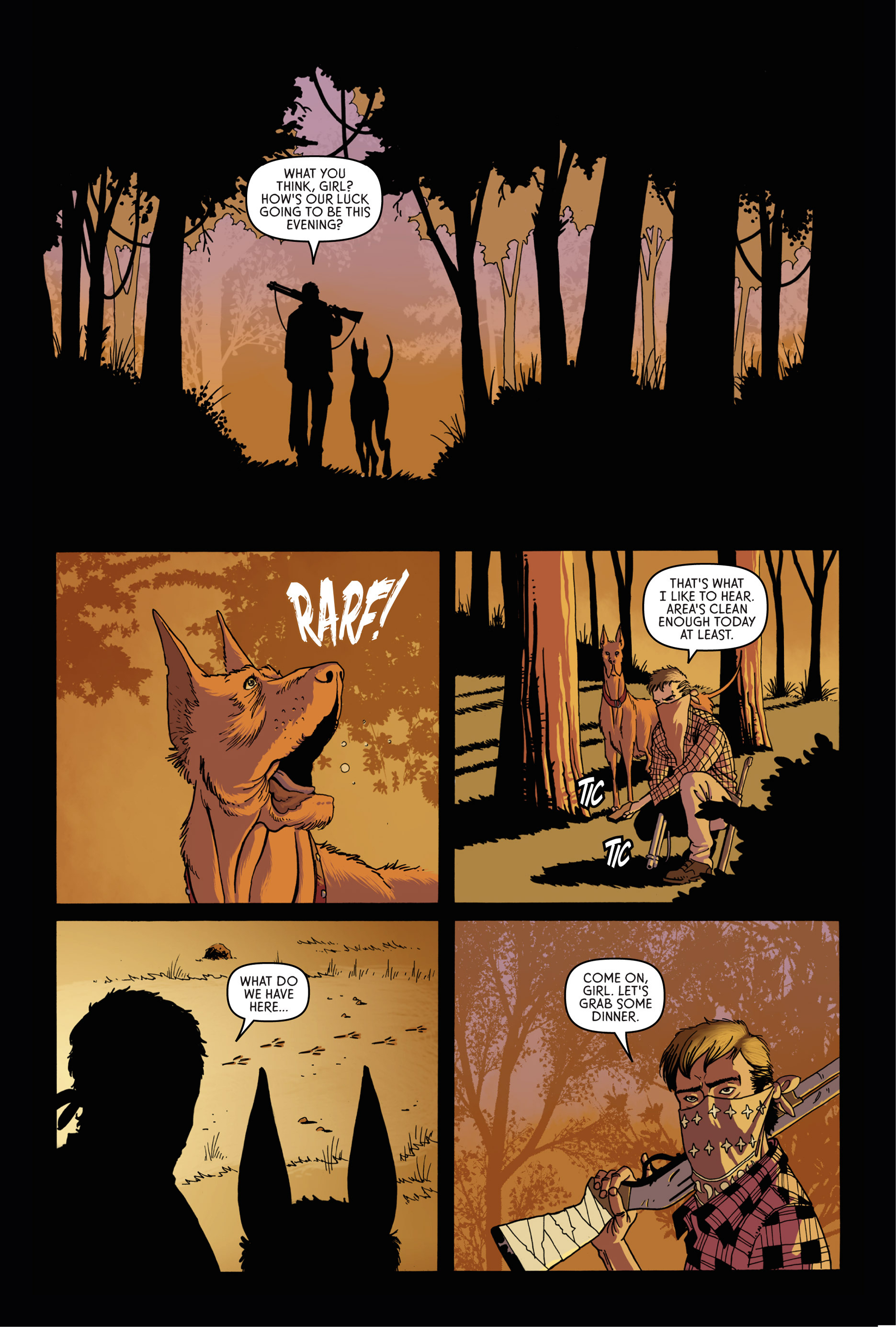 Read online Trespasser comic -  Issue #1 - 4