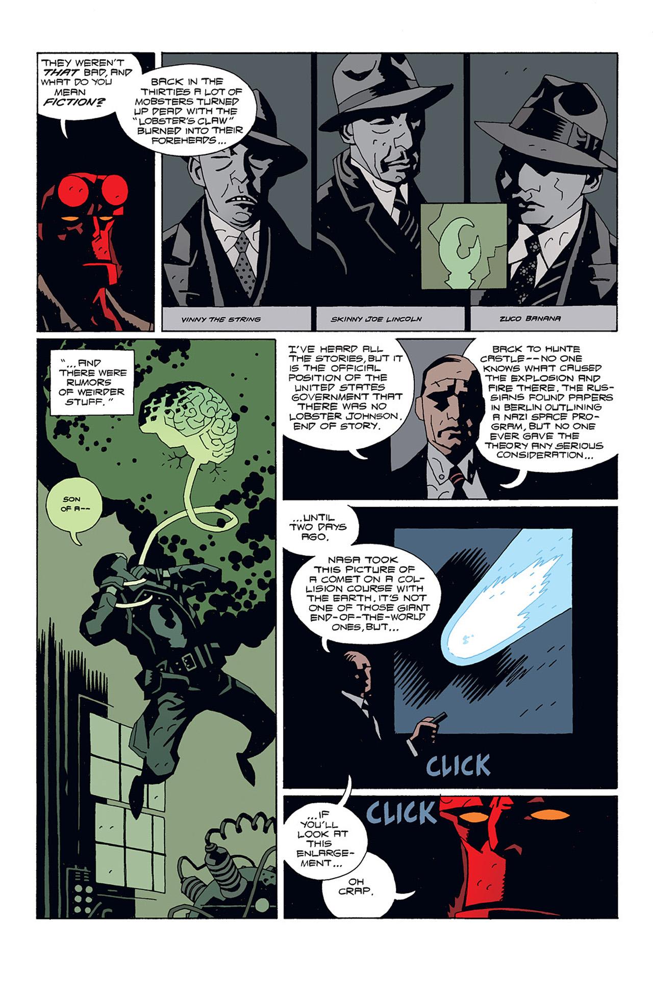 Read online Hellboy: Conqueror Worm comic -  Issue #1 - 11