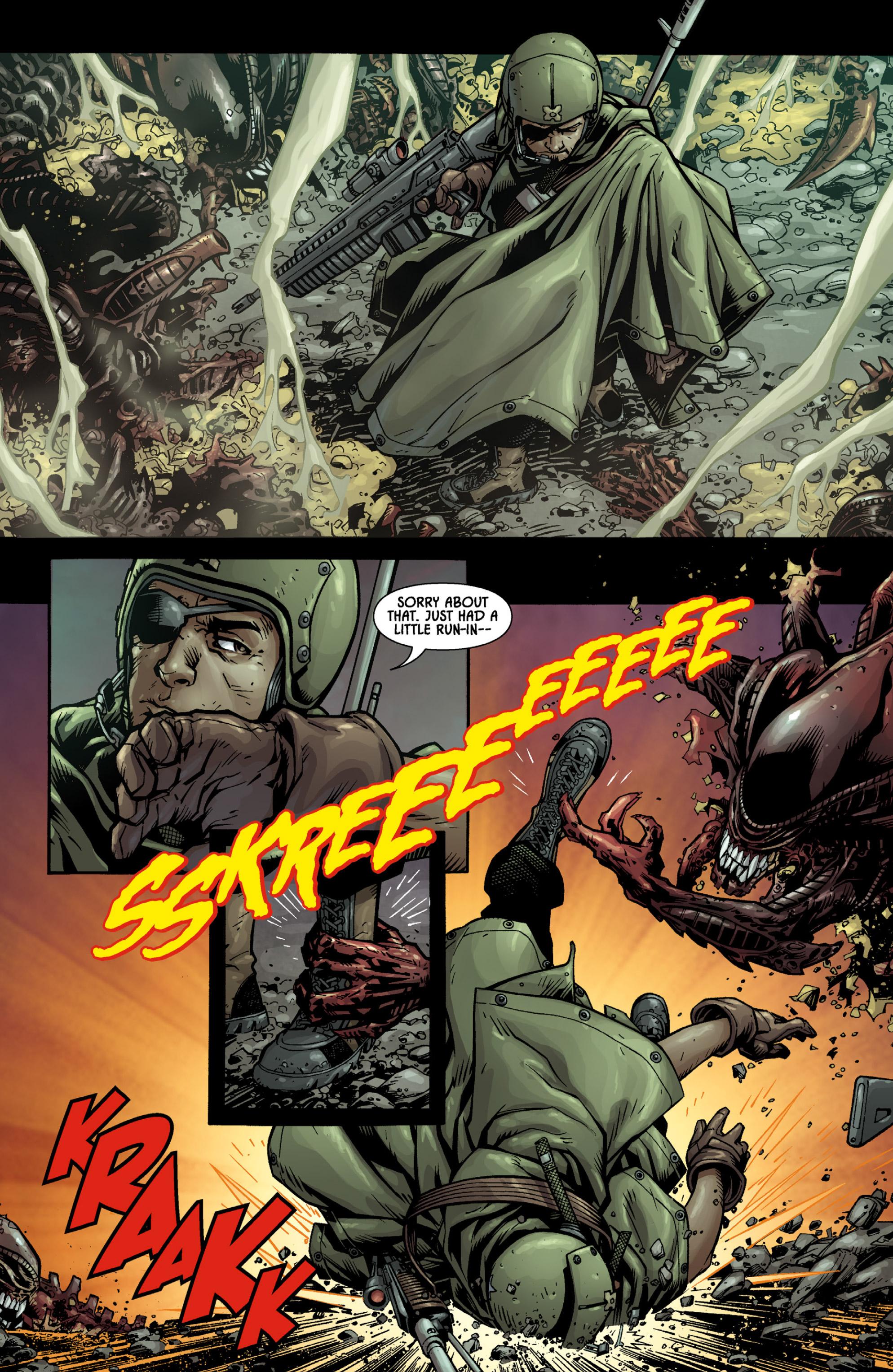 Read online Aliens (2009) comic -  Issue # TPB - 17