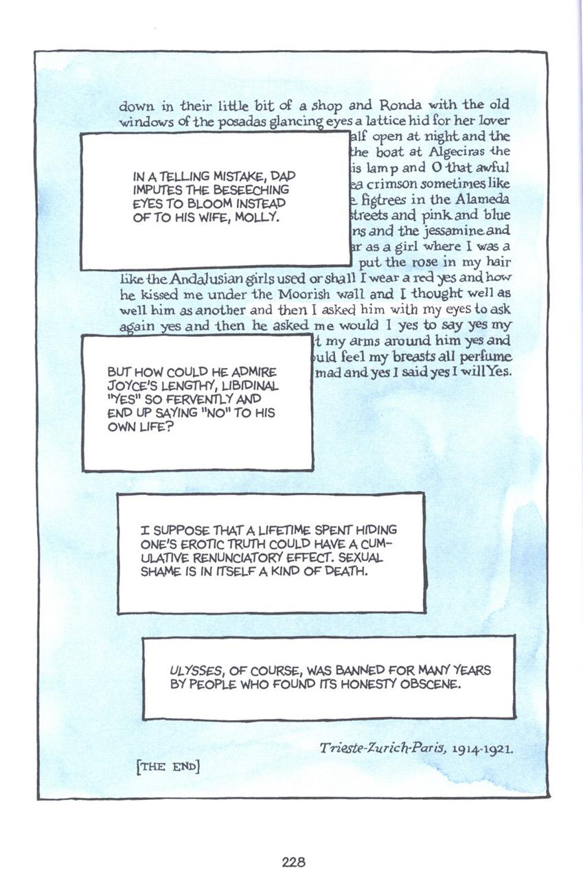 Read online Fun Home: A Family Tragicomic comic -  Issue # TPB - 234
