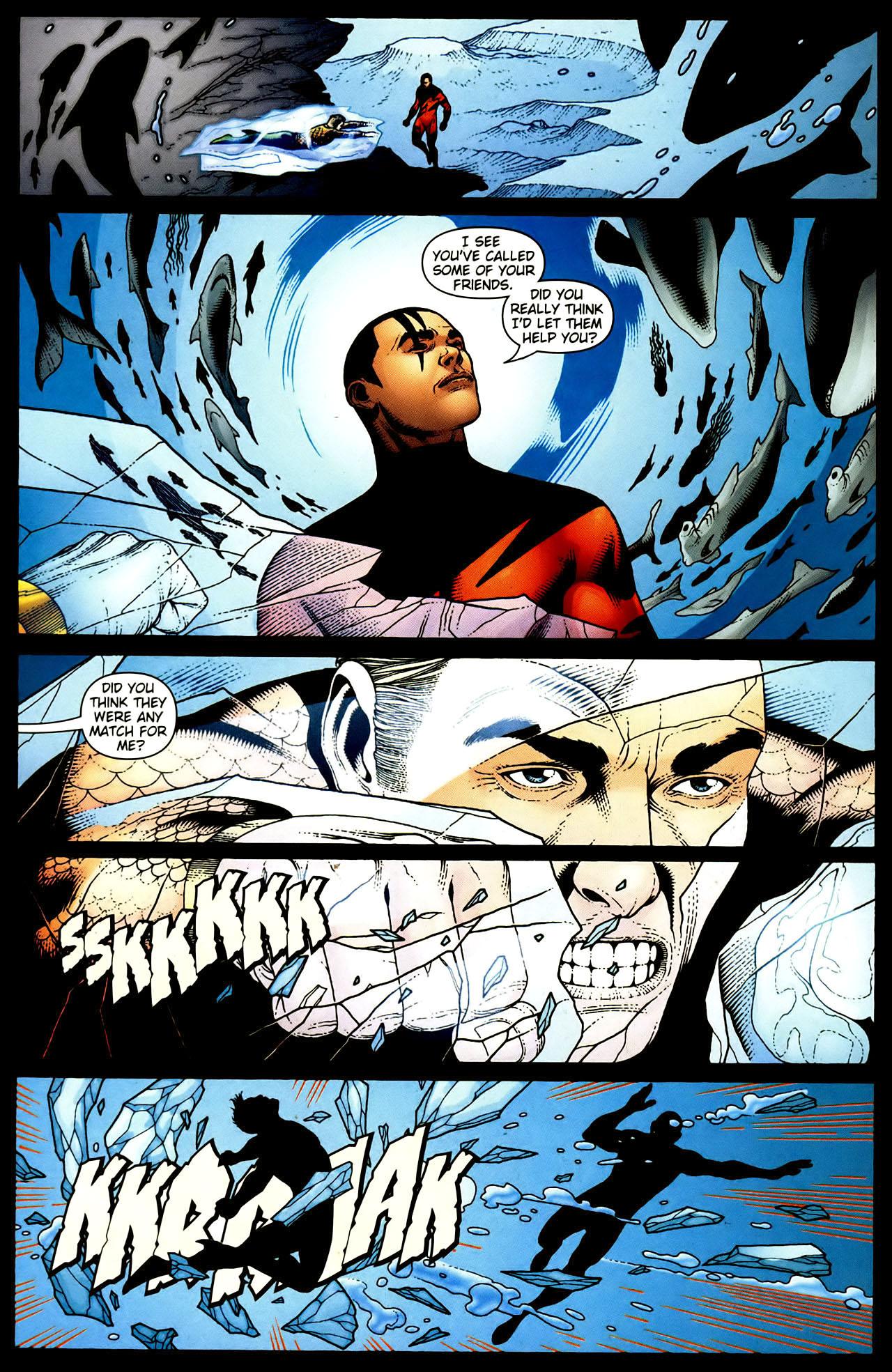 Read online Aquaman (2003) comic -  Issue #34 - 12
