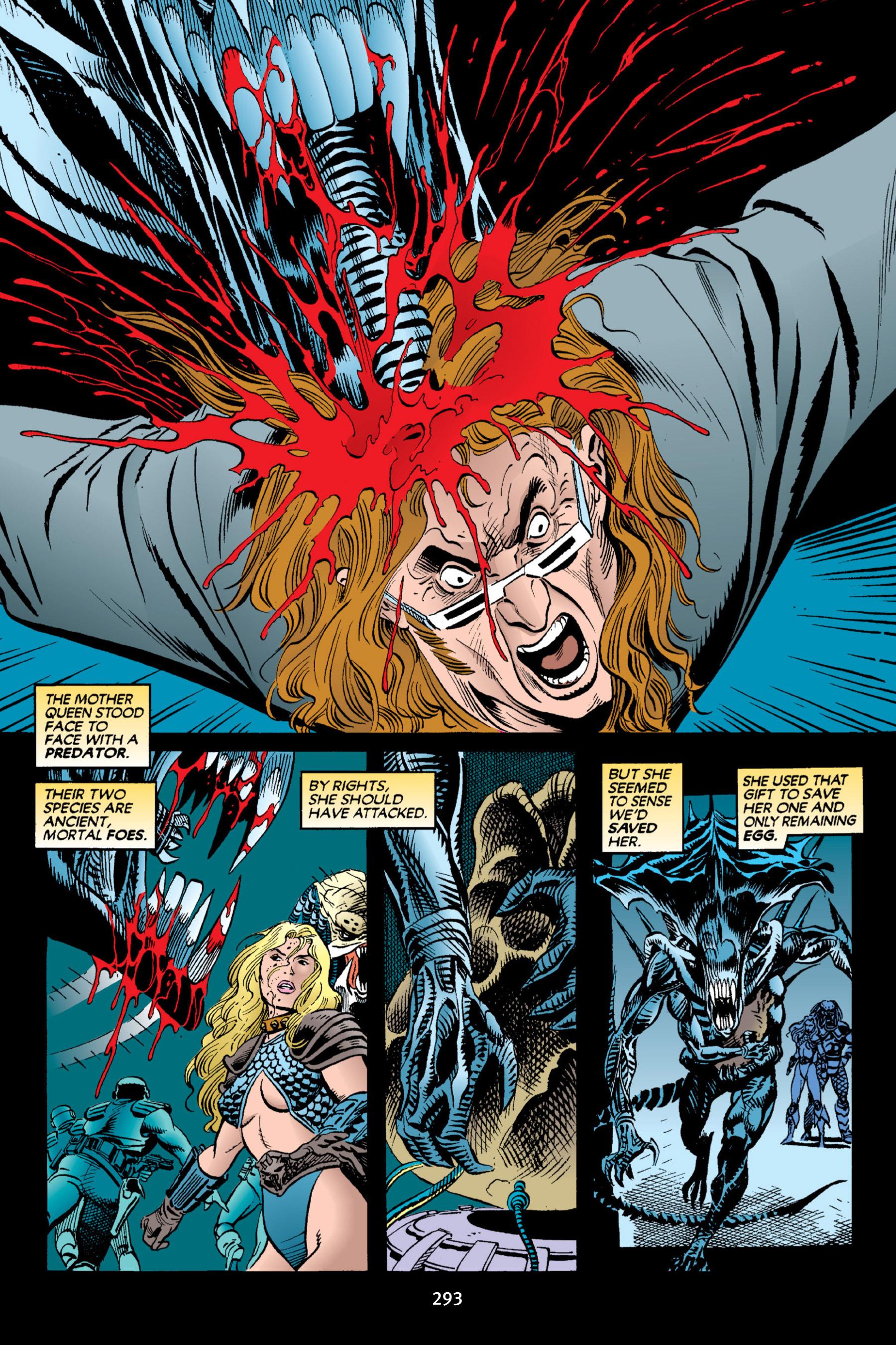 Read online Aliens vs. Predator Omnibus comic -  Issue # _TPB 2 Part 3 - 68