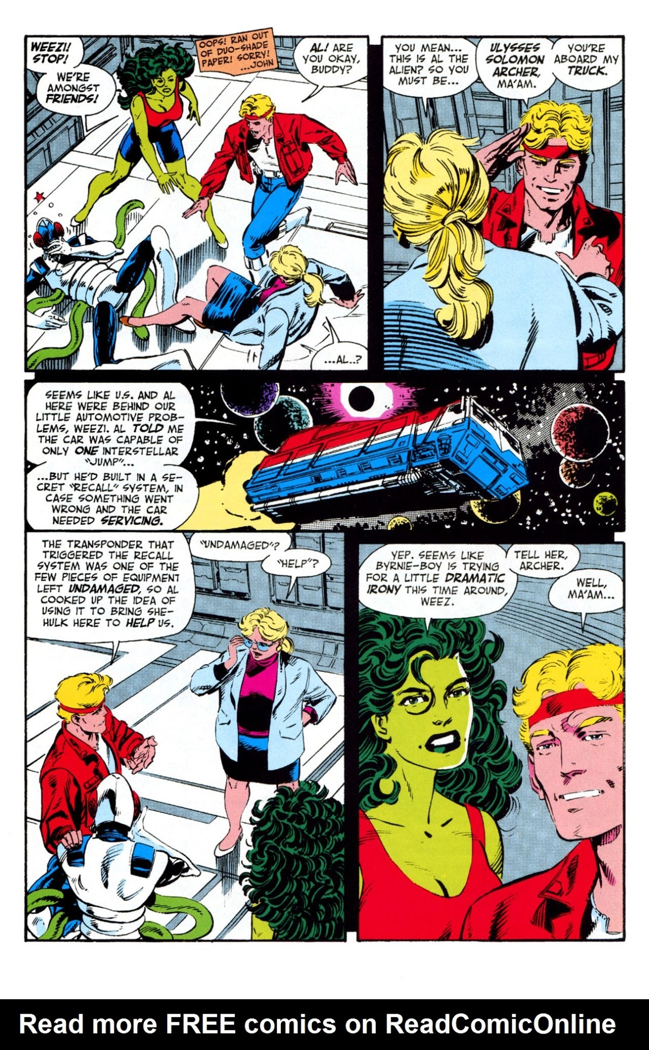 She Hulk Sensational Full | Viewcomic reading comics