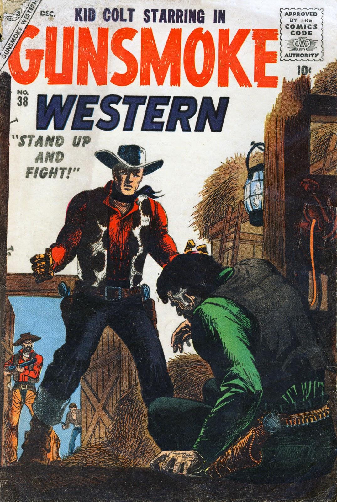 Gunsmoke Western issue 38 - Page 1