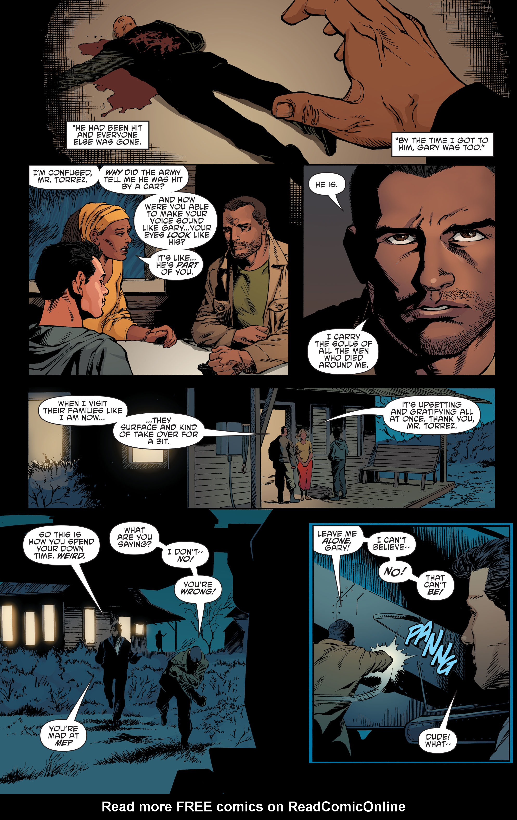 Read online Aquaman and the Others comic -  Issue #7 - 16