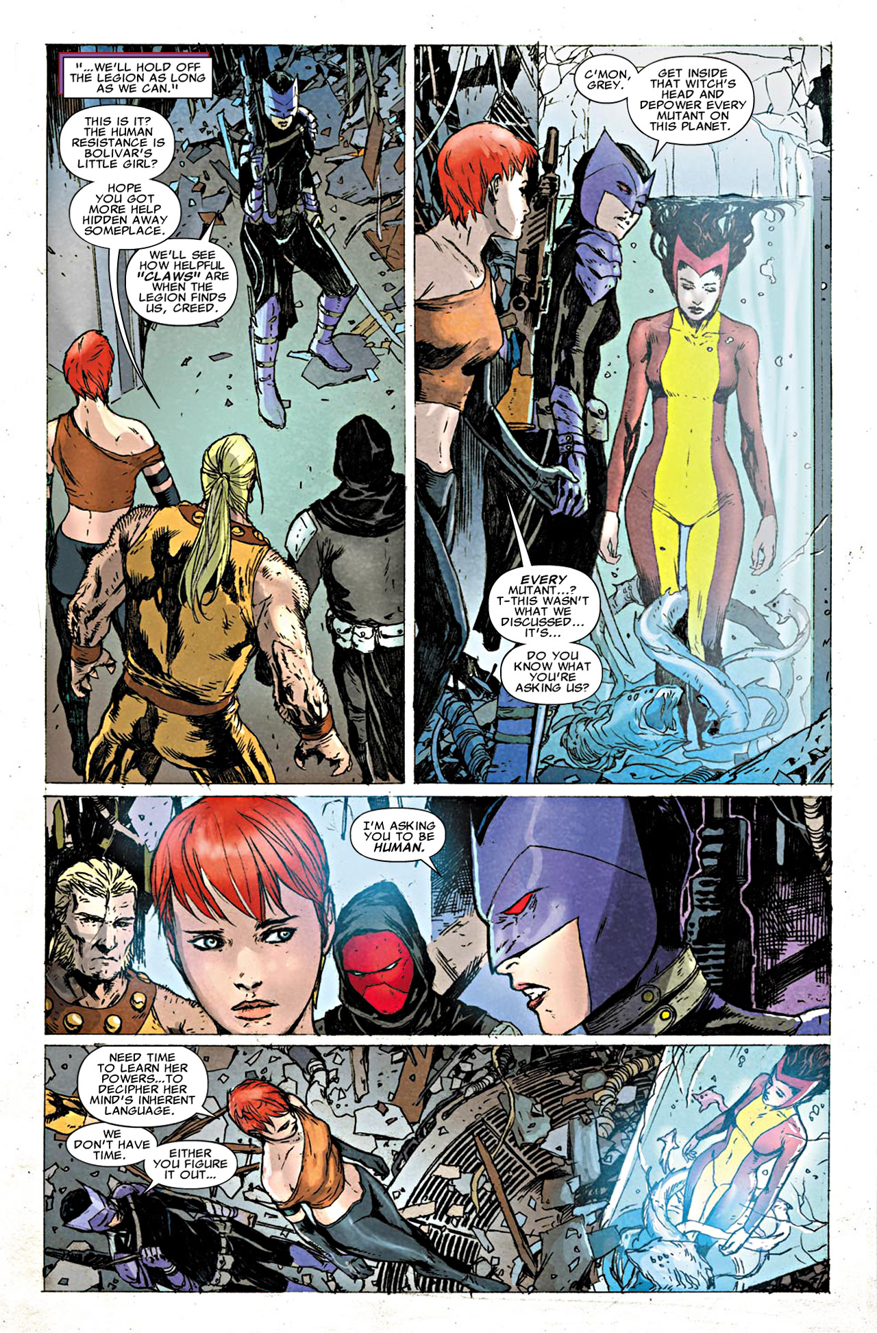 Read online Uncanny X-Force (2010) comic -  Issue #19.1 - 12