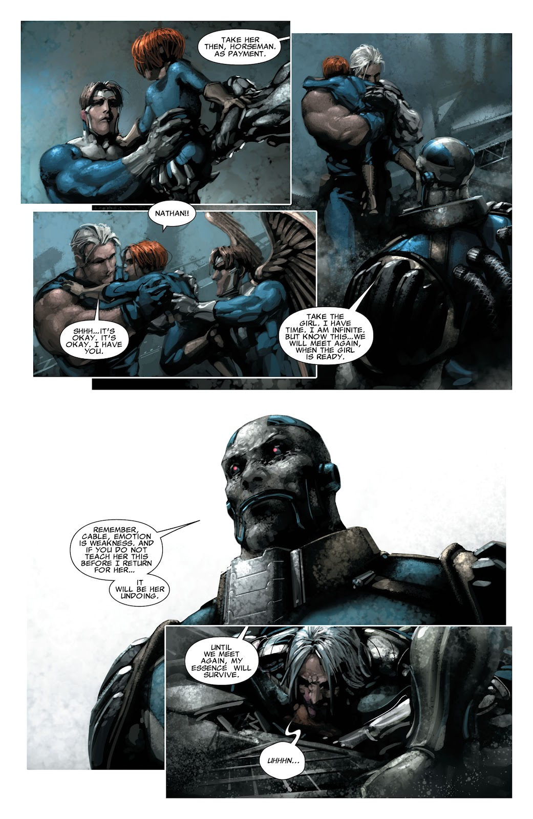 Read online X-Force/Cable: Messiah War comic -  Issue # _TPB (Part 2) - 137