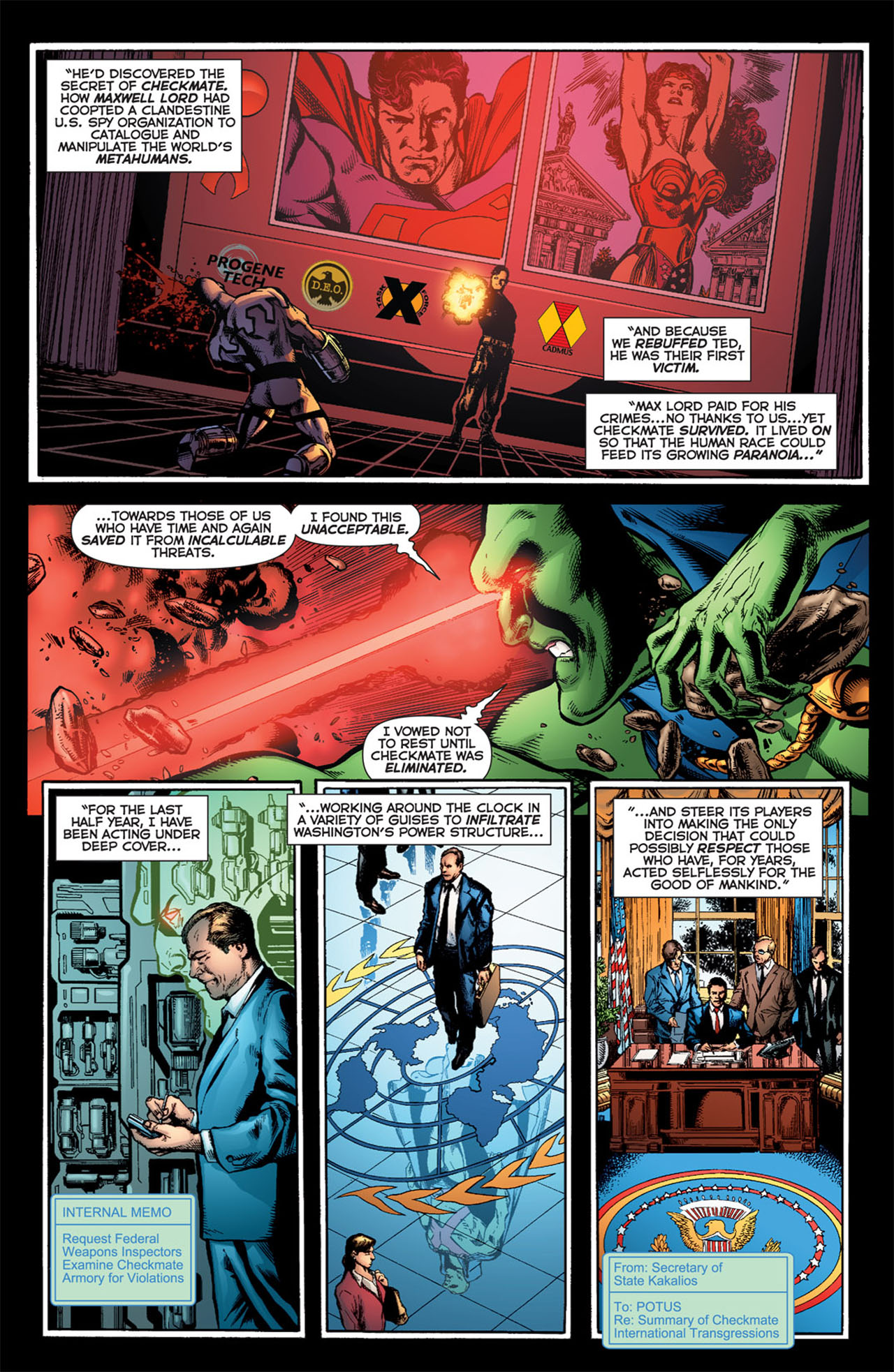 Read online 52 comic -  Issue #24 - 8